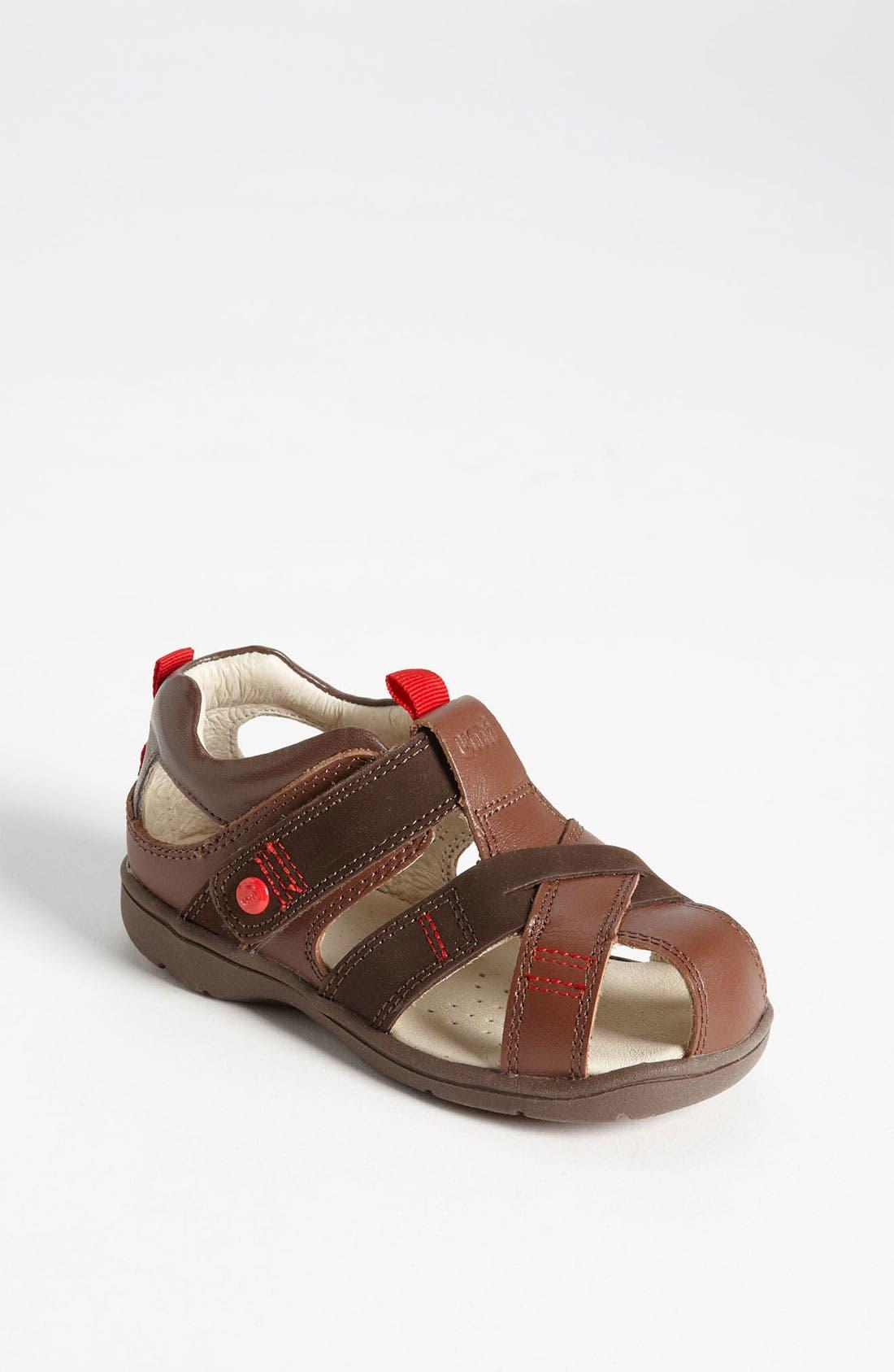 Alternate Image 1 Selected - Umi 'Trieste' Fisherman Sandal (Walker & Toddler)