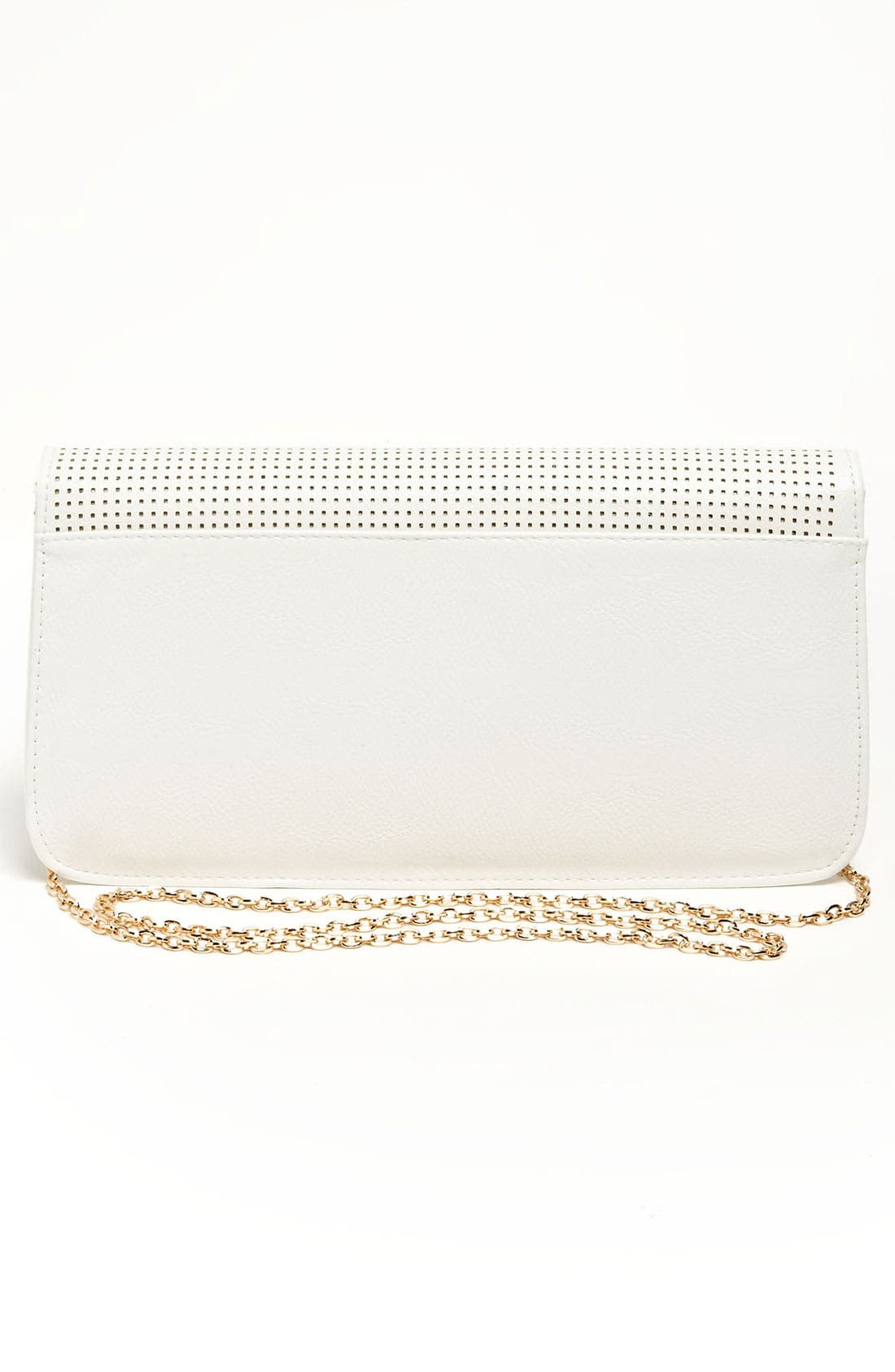 Alternate Image 4  - Urban Expressions Handbags Perforated Clutch