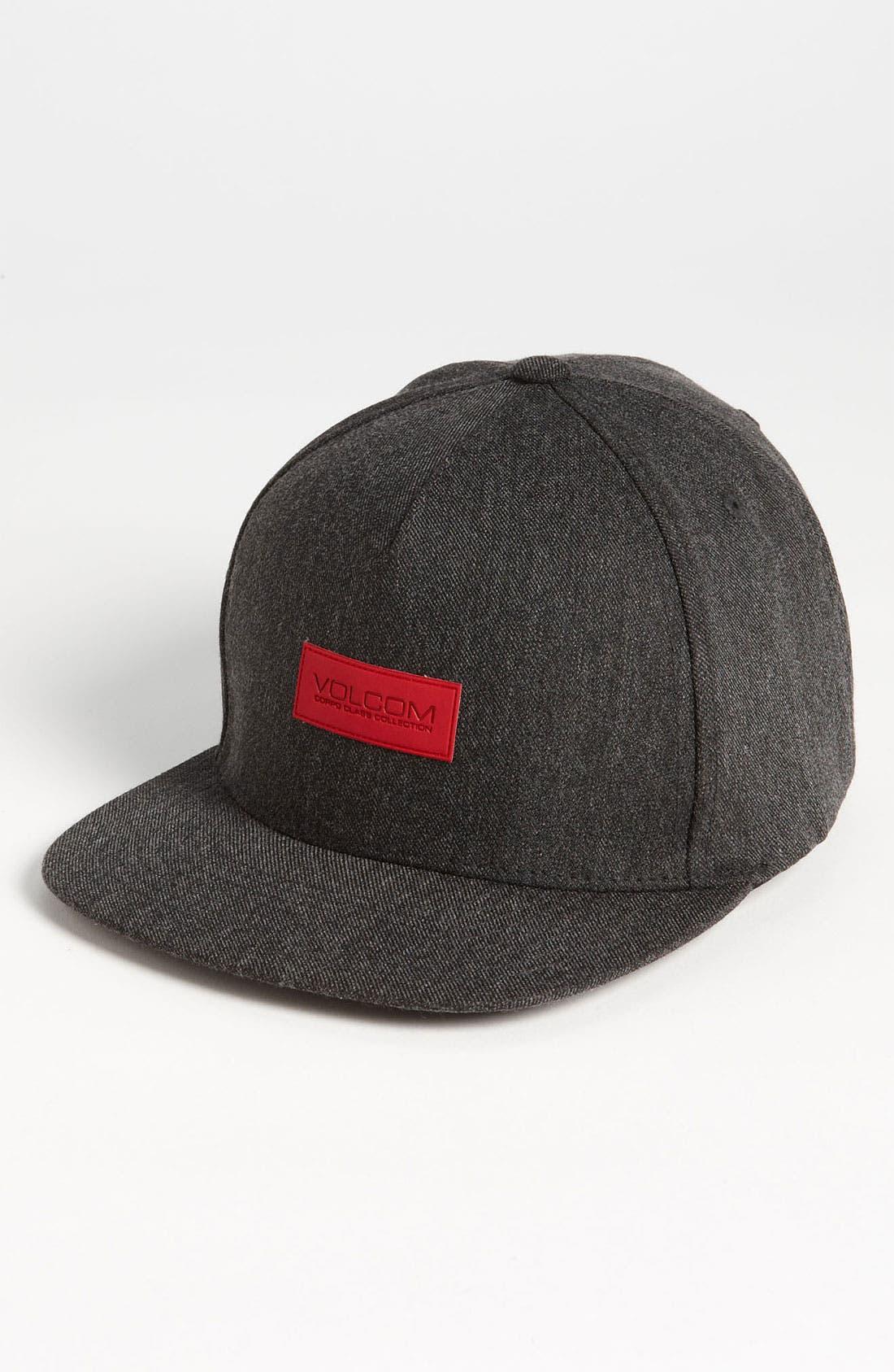 Main Image - Volcom 'Exec' Snapback Hat (Big Boys)