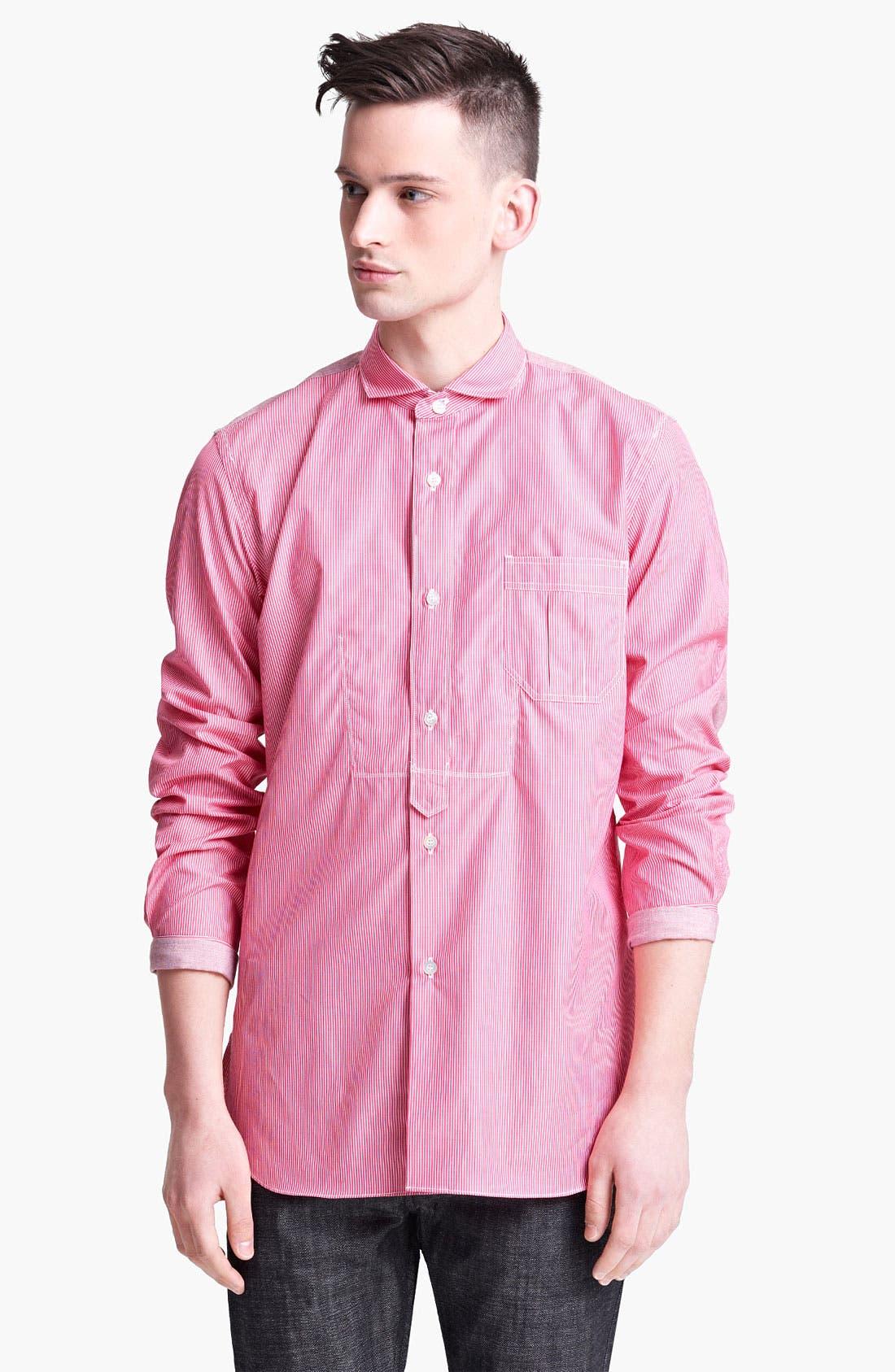 Alternate Image 1 Selected - Junya Watanabe Stripe Shirt