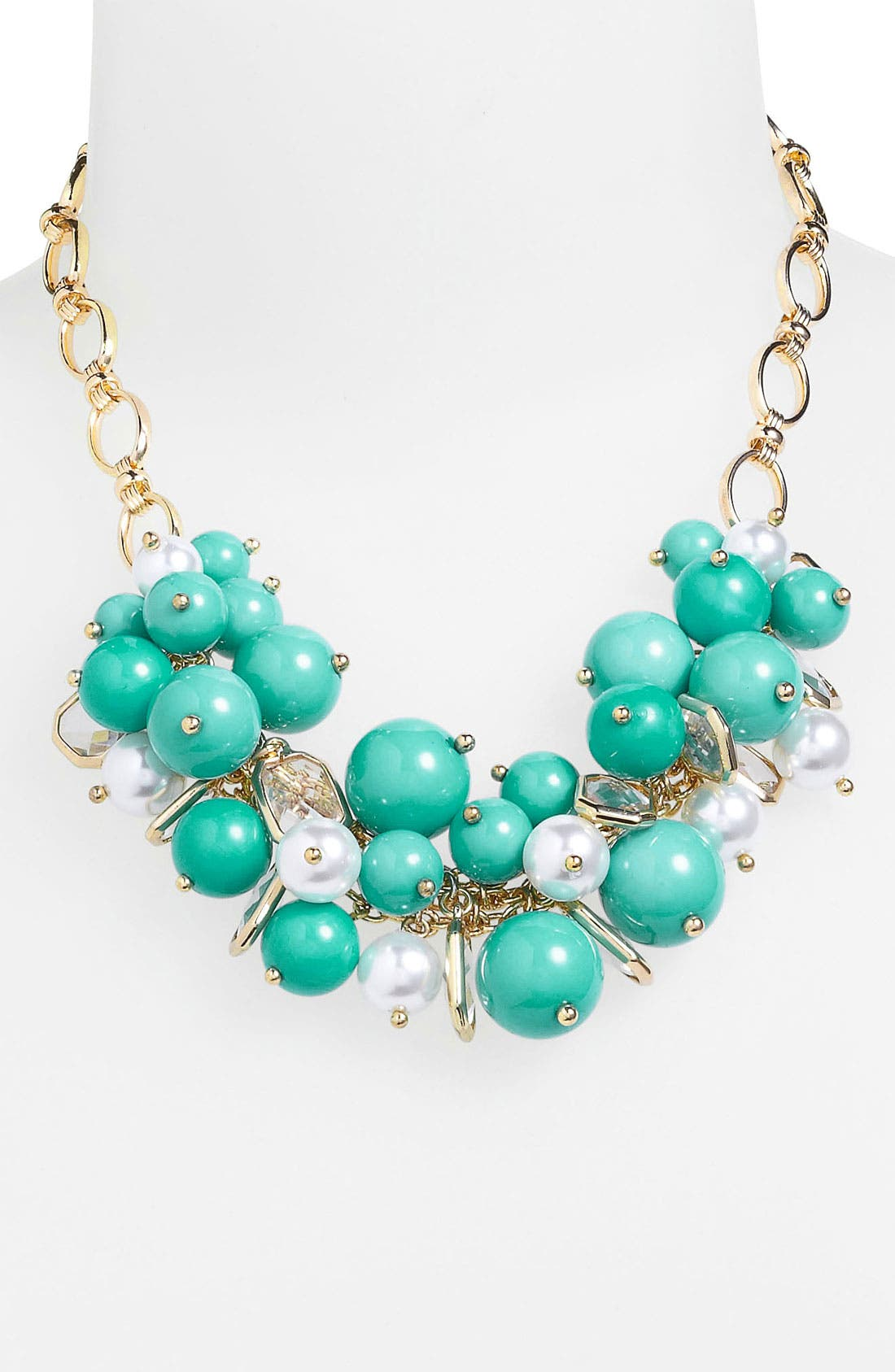 Alternate Image 2  - Anne Klein Frontal Necklace