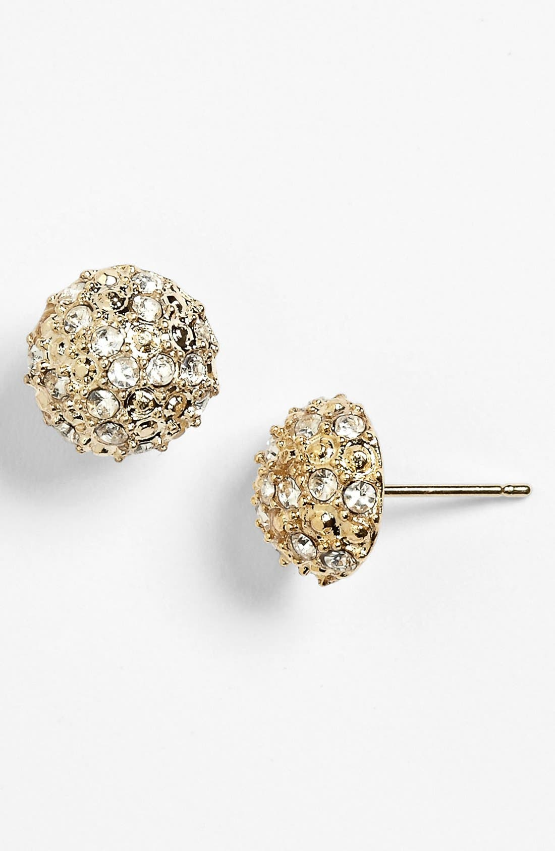 Alternate Image 1 Selected - Rachel Rhinestone Dome Stud Earrings