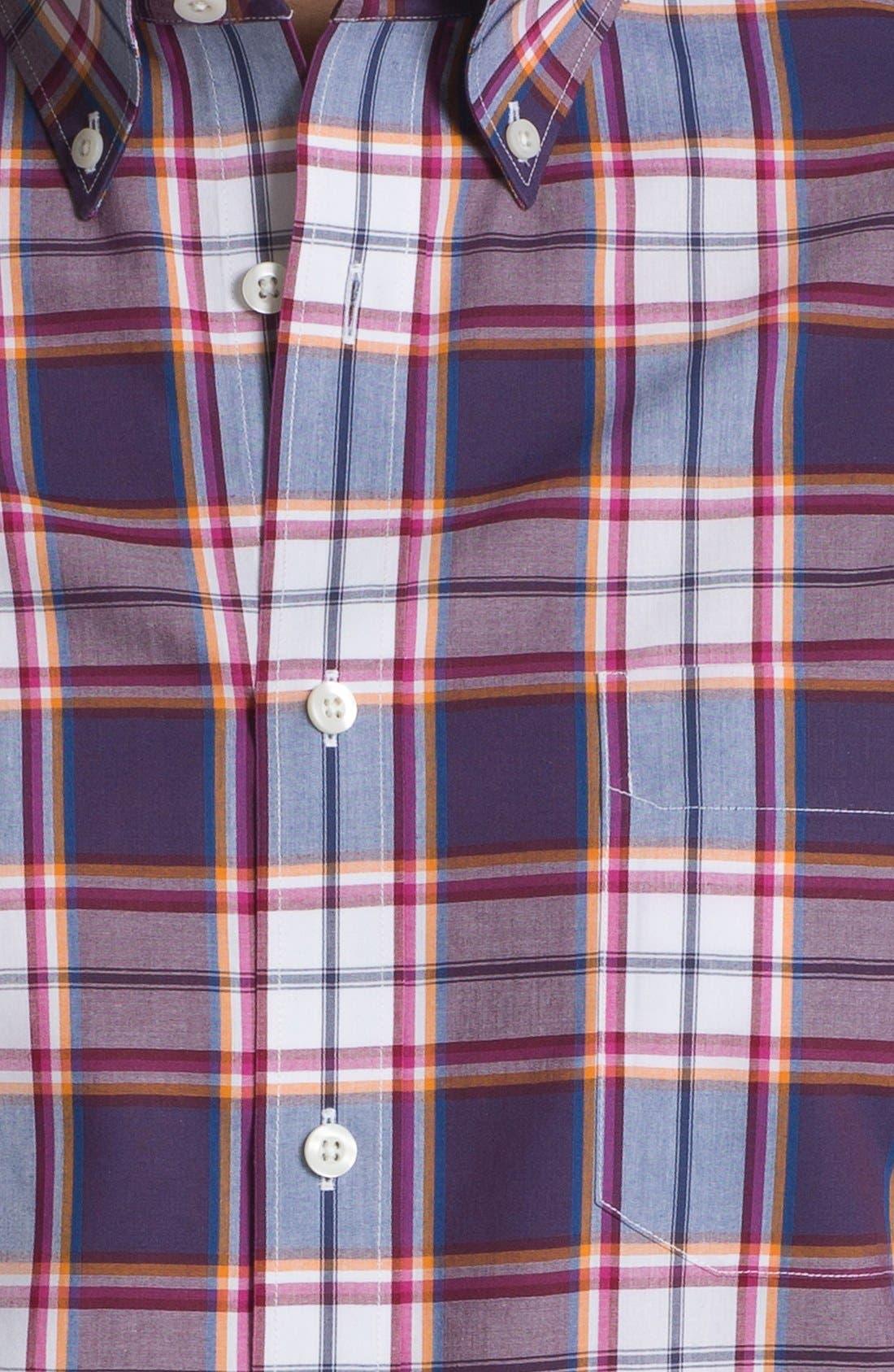 Alternate Image 3  - Nordstrom Short Sleeve Poplin Sport Shirt