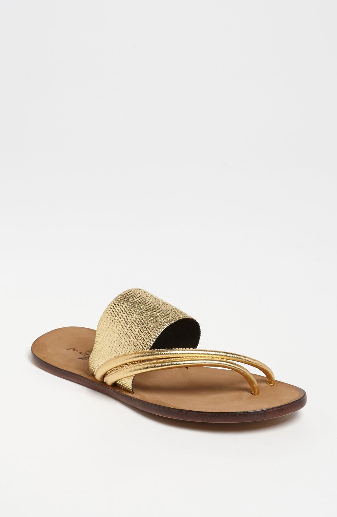 Main Image - 7 For All Mankind® 'Zaira' Sandal (Online Only)