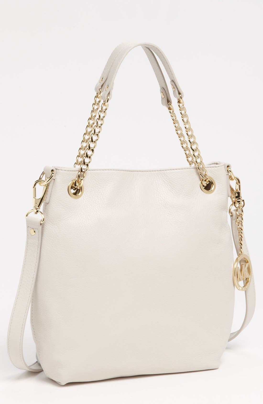 Alternate Image 1 Selected - MICHAEL Michael Kors 'Jet Set - Medium' Chain Shoulder Tote