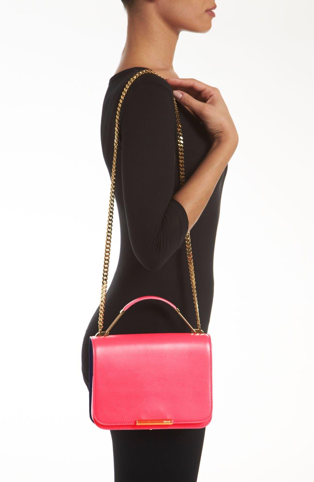 Alternate Image 2  - Emilio Pucci Partitioned Leather Shoulder Bag