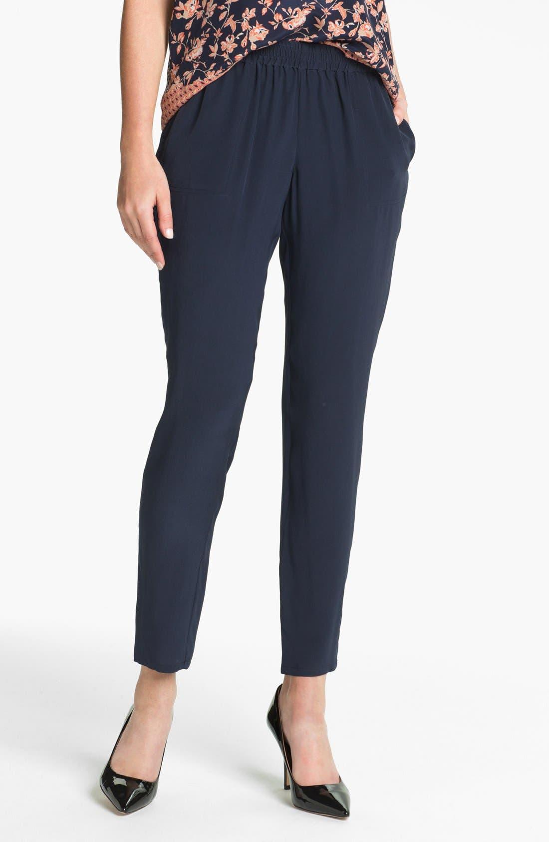 Alternate Image 1 Selected - Joie 'Julietta' Silk Pants