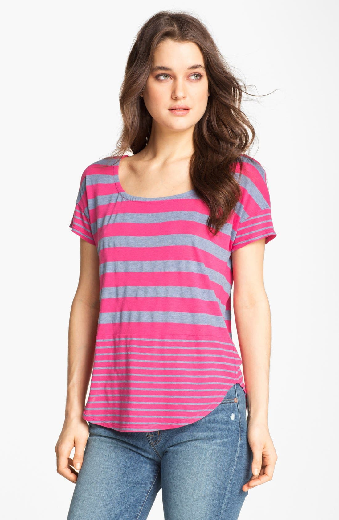 Alternate Image 1 Selected - Splendid Twin Stripe Tee