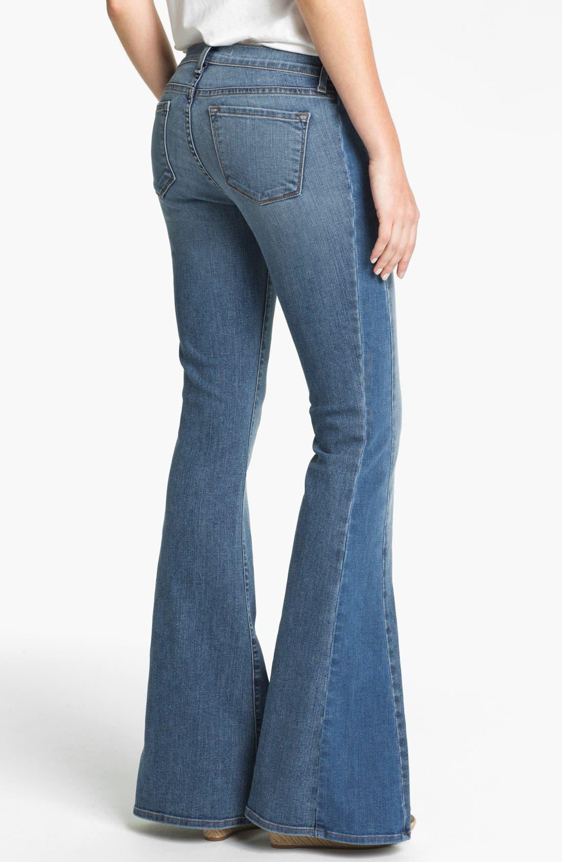 Alternate Image 2  - J Brand 'Chrissy' Flare Leg Jeans (Bliss)