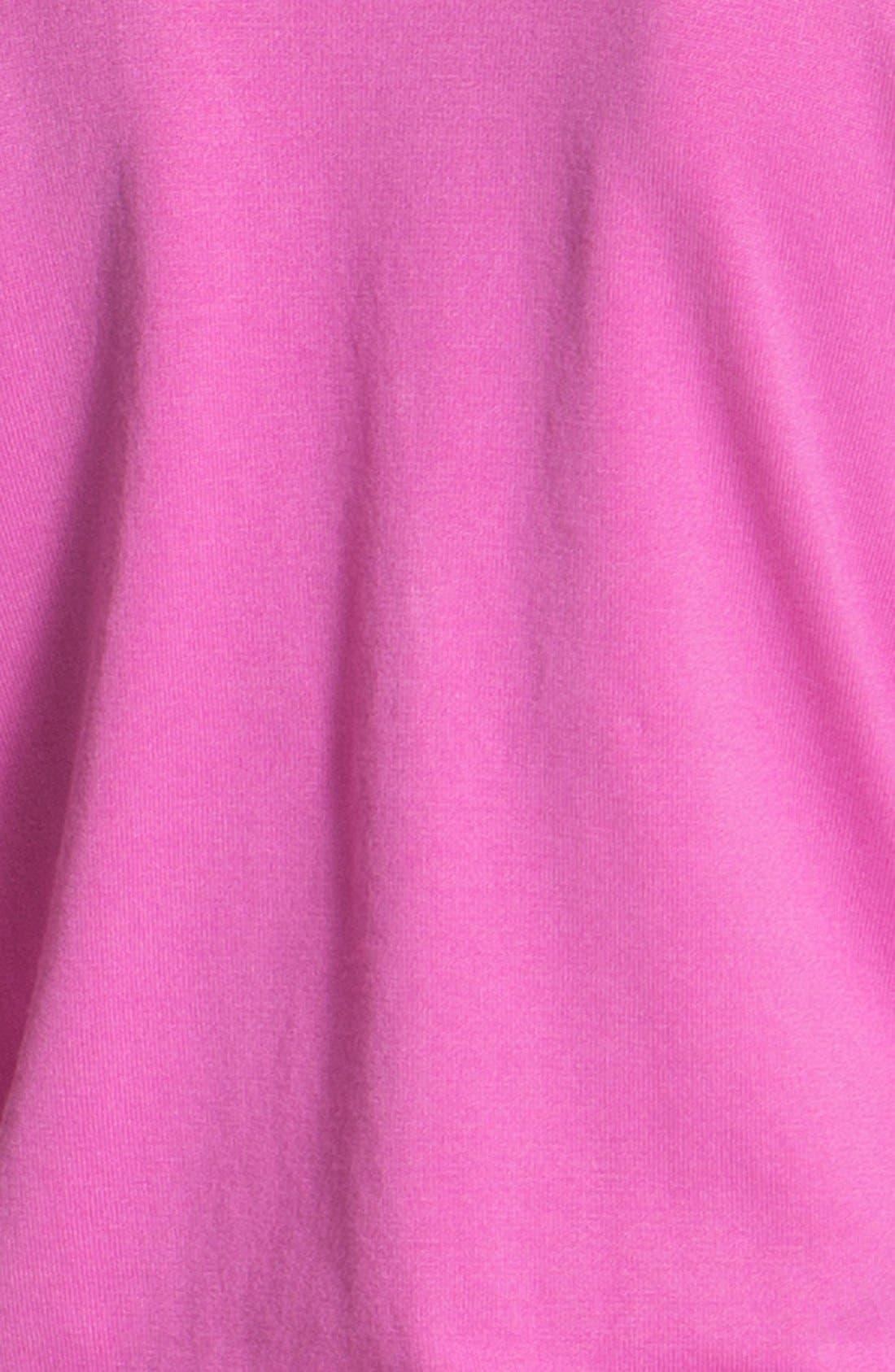 Alternate Image 4  - Isaac Mizrahi New York Button Trim V-Neck Cardigan