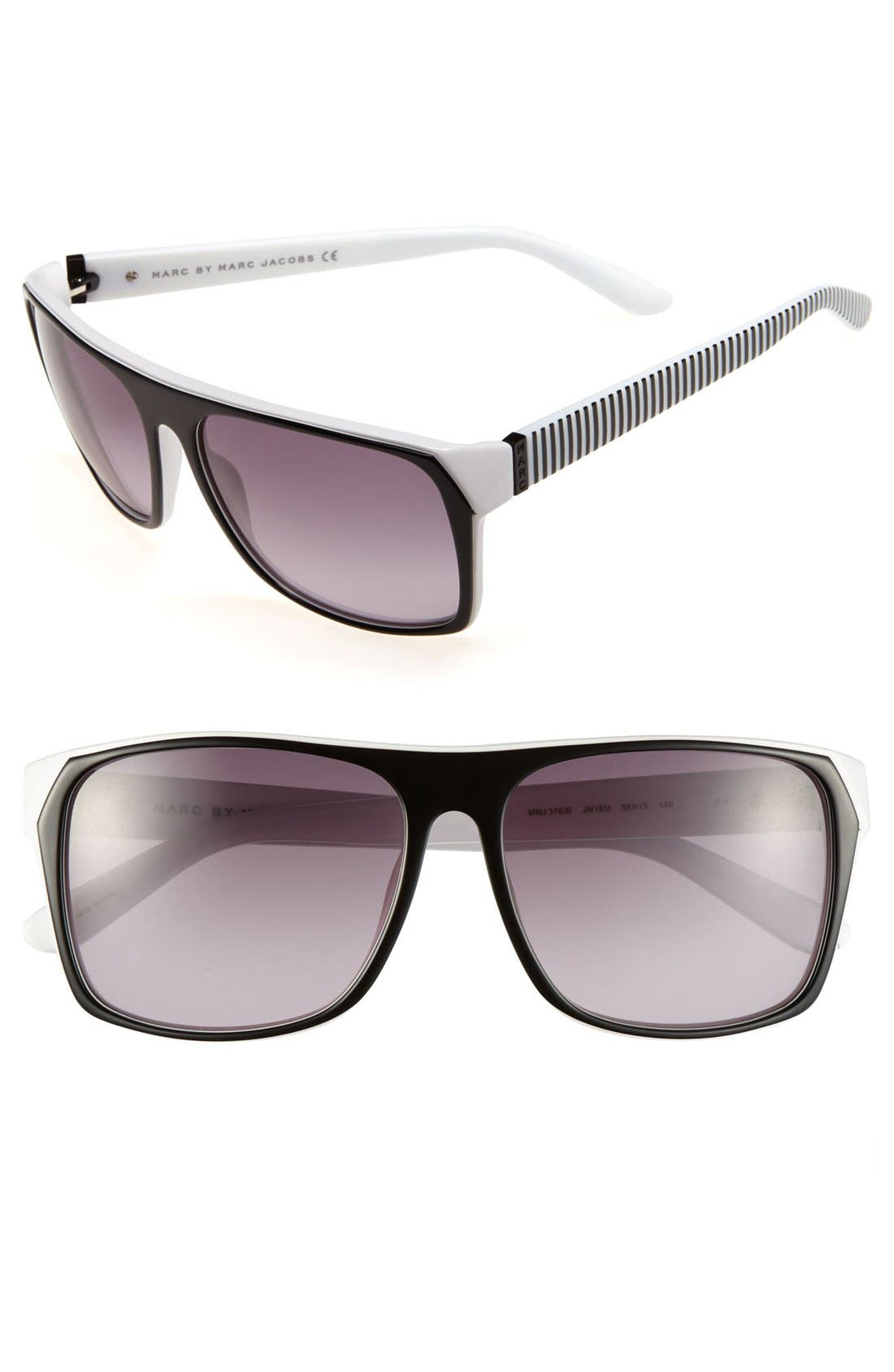 Alternate Image 1 Selected - MARC BY MARC JACOBS 58mm Sunglasses