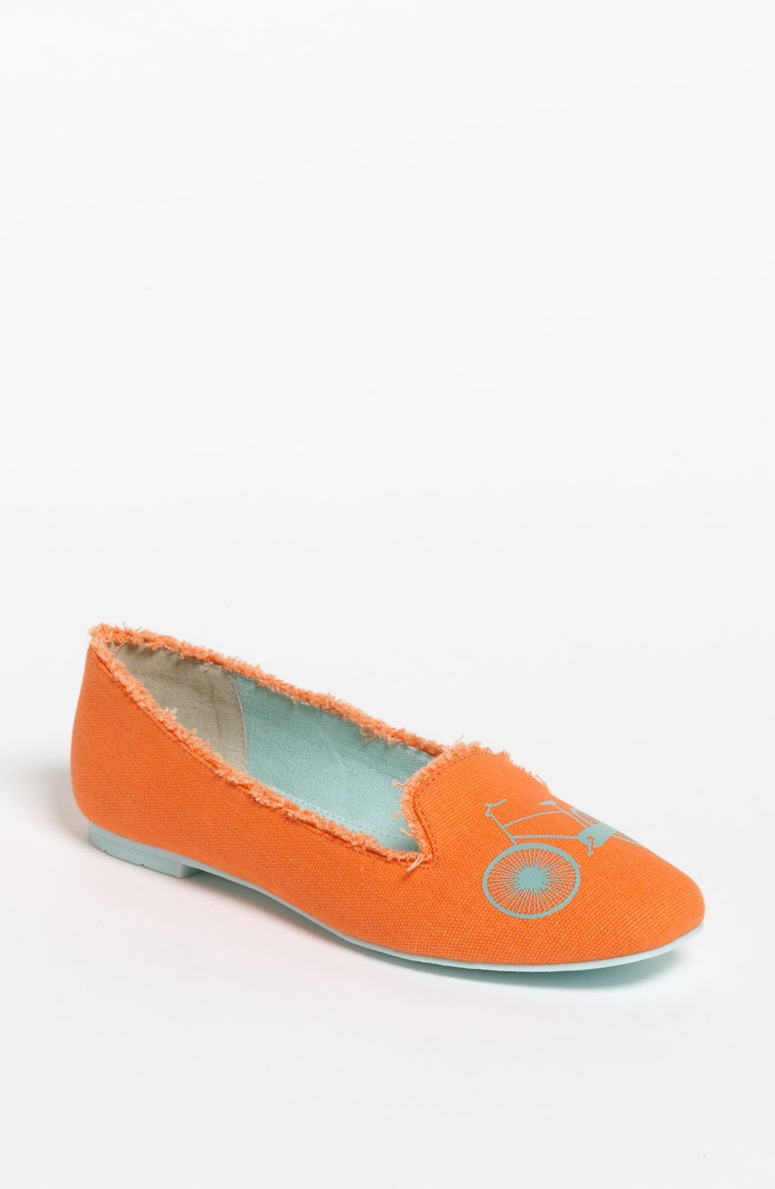 Alternate Image 1 Selected - BC Footwear 'Paint the Town Red' Flat