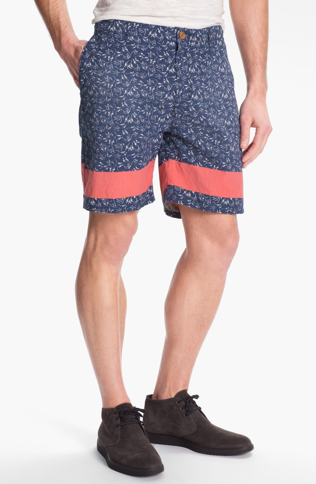 Main Image - Scotch & Soda Floral Print Shorts