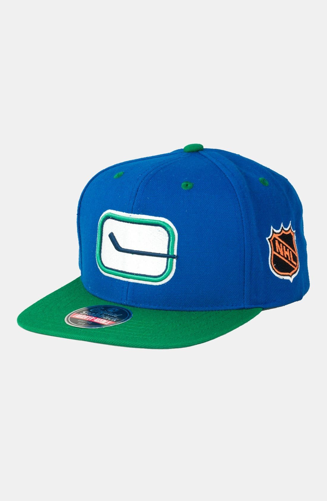 Main Image - American Needle 'Vancouver Canucks - Blockhead' Snapback Hockey Cap