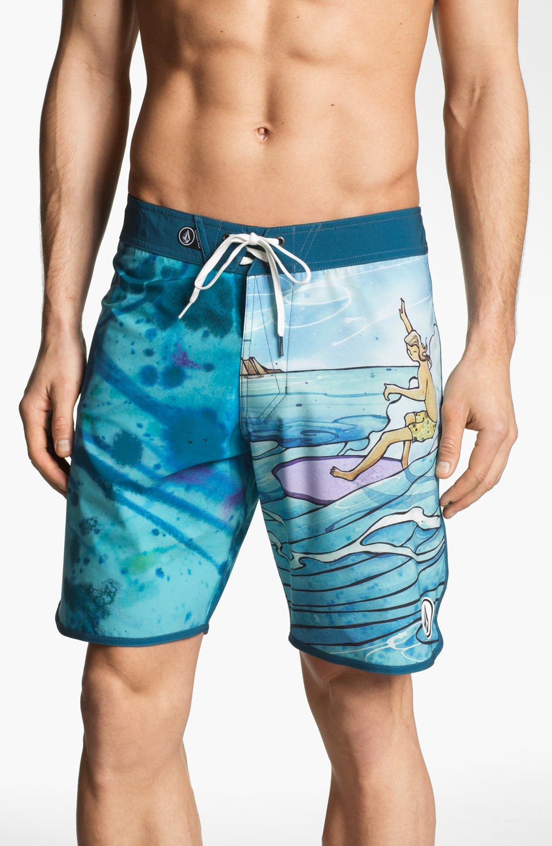 Alternate Image 1 Selected - 'Harry Daily' Board Shorts