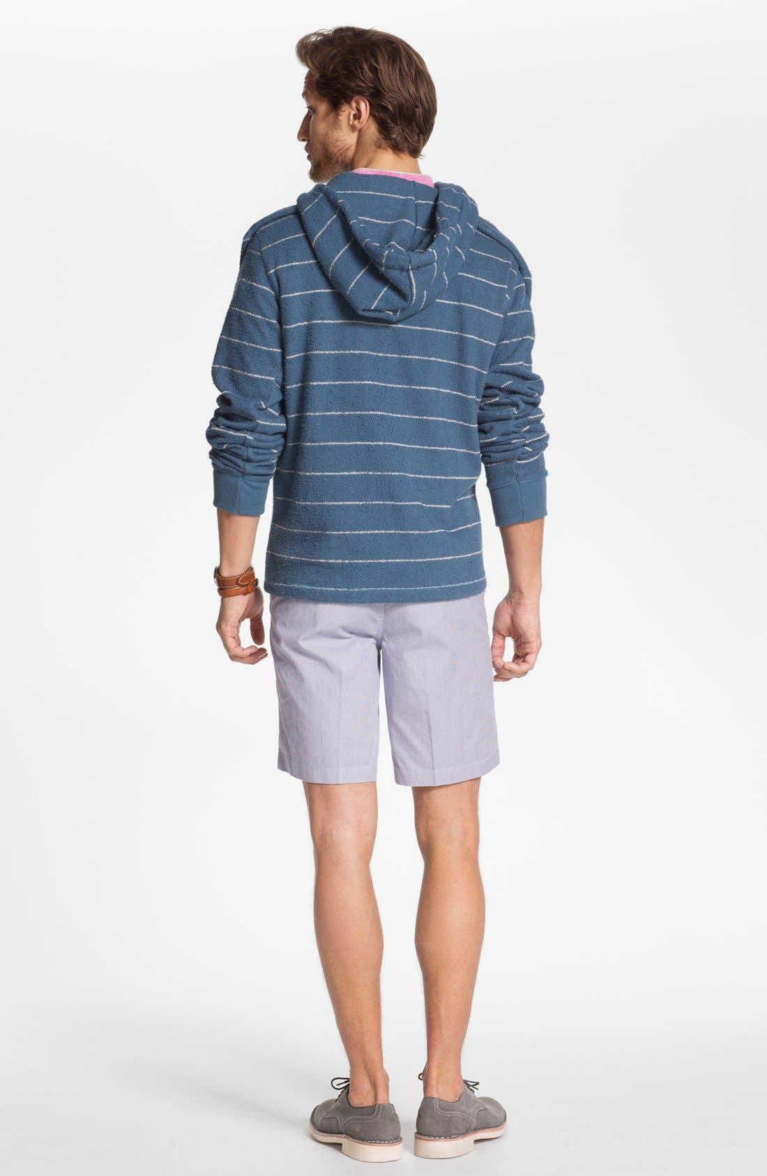 Alternate Image 5  - French Connection Short Sleeve Linen Sport Shirt