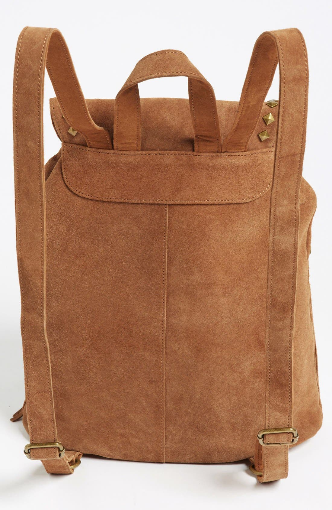 Alternate Image 4  - Steve Madden Fringed Suede Backpack (Juniors)