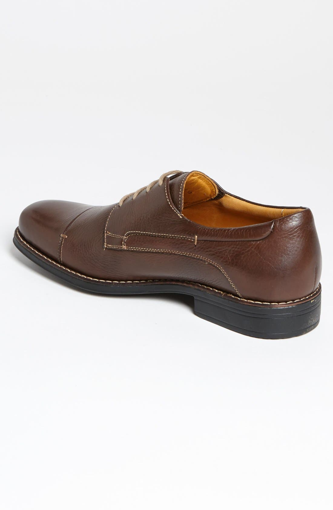 'Gary' Cap Toe Derby,                             Alternate thumbnail 2, color,                             Troy