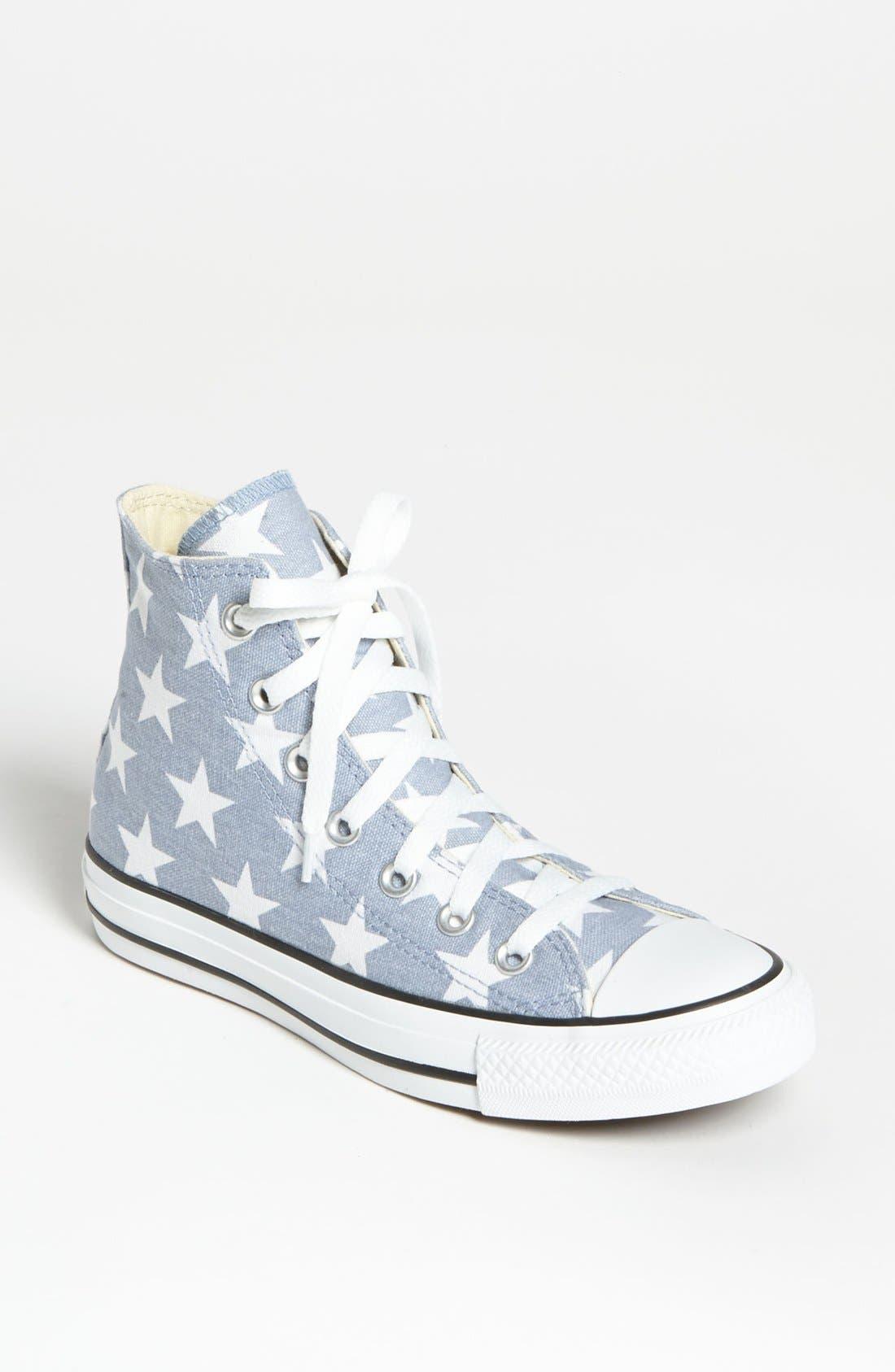Main Image - Converse Chuck Taylor® All Star® Stars High Top Sneaker (Women)