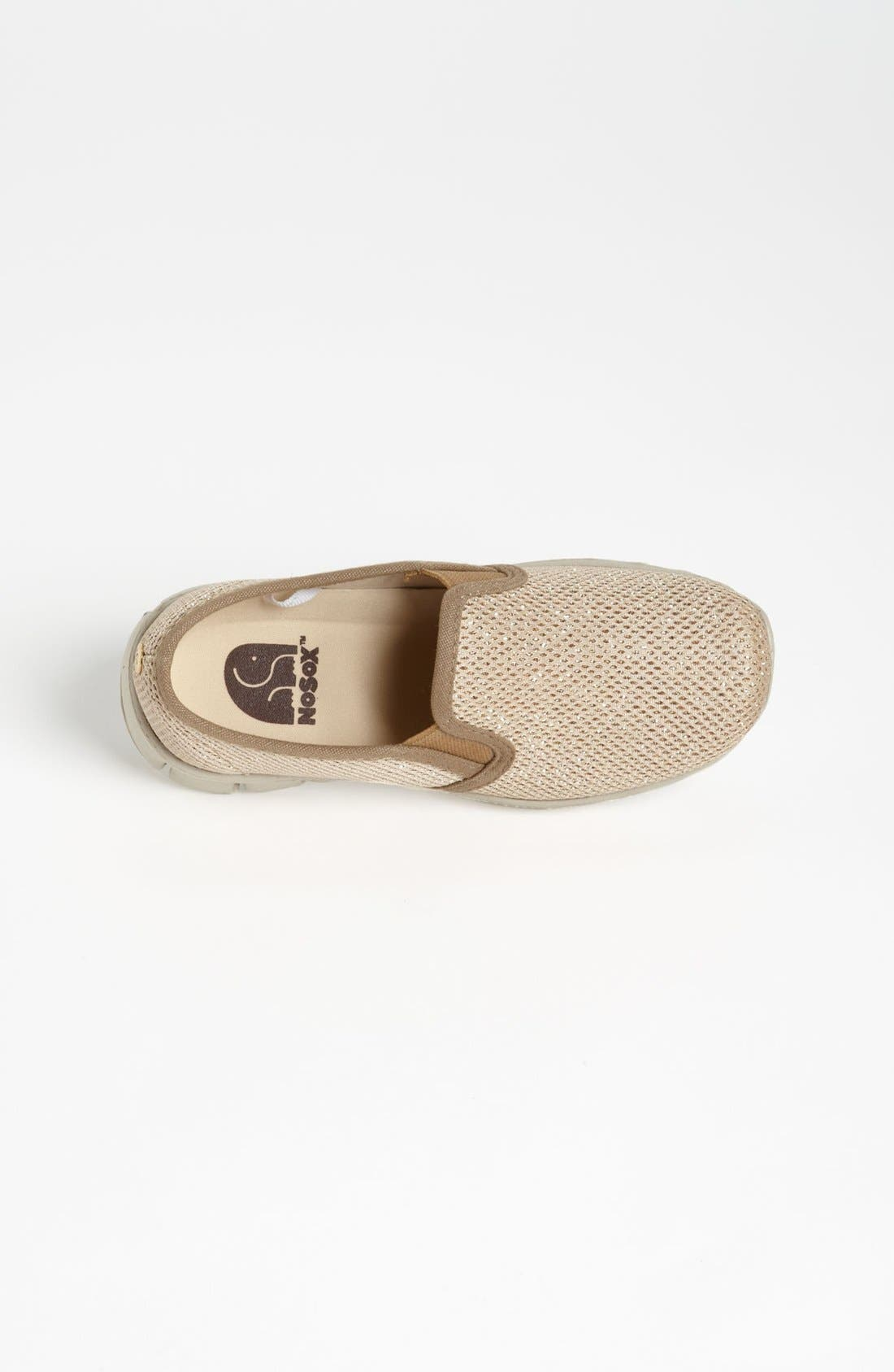 Alternate Image 4  - NoSox 'Pax' Mesh Glitter Slip-On (Little Kid & Big Kid)