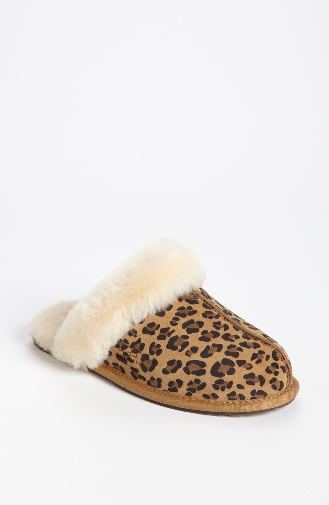 Alternate Image 1 Selected - UGG® Australia 'Scuffette II - Leopard' Slipper (Women)