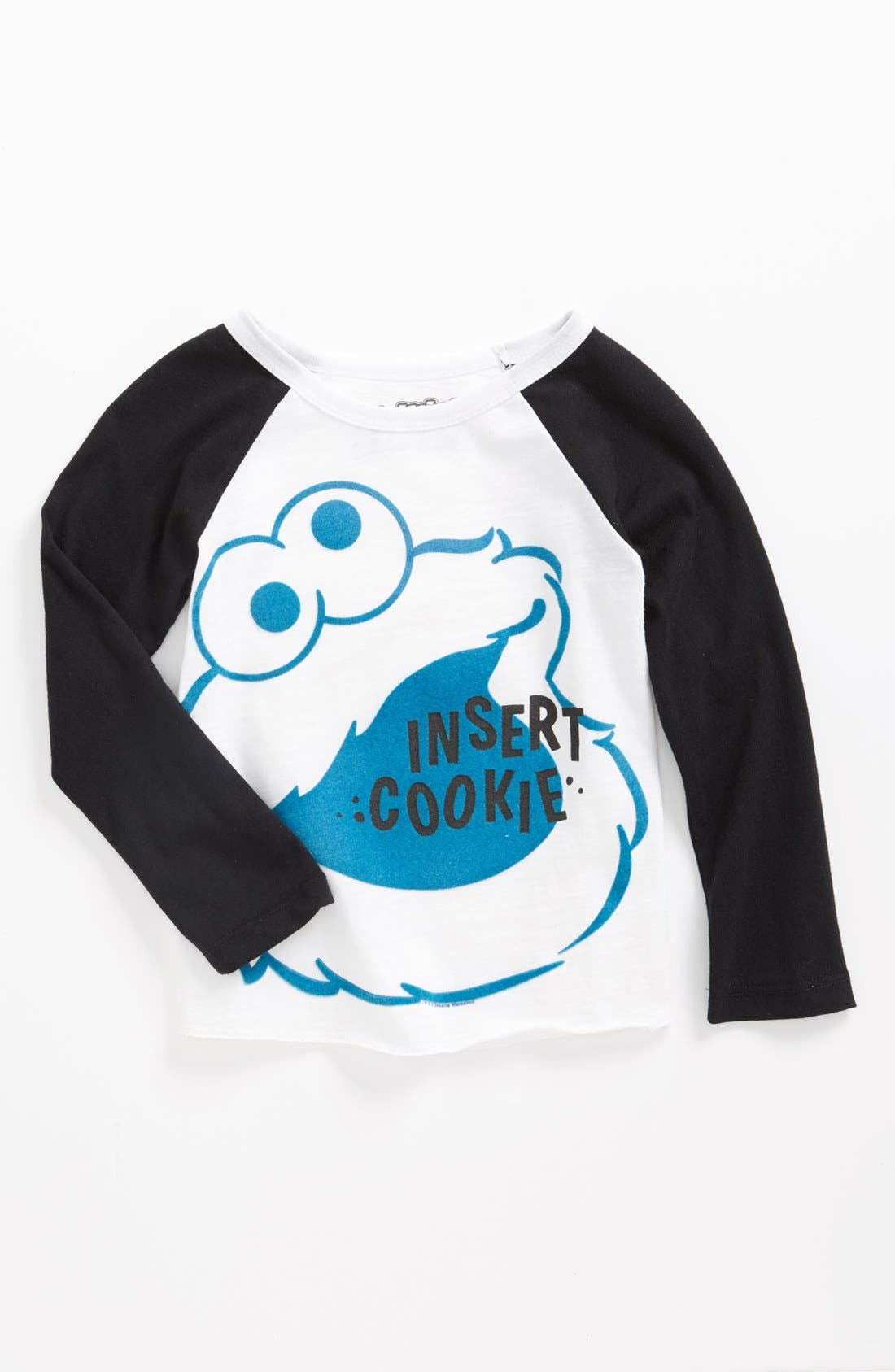 Alternate Image 1 Selected - Mighty Fine 'Insert Cookie' T-Shirt (Toddler)