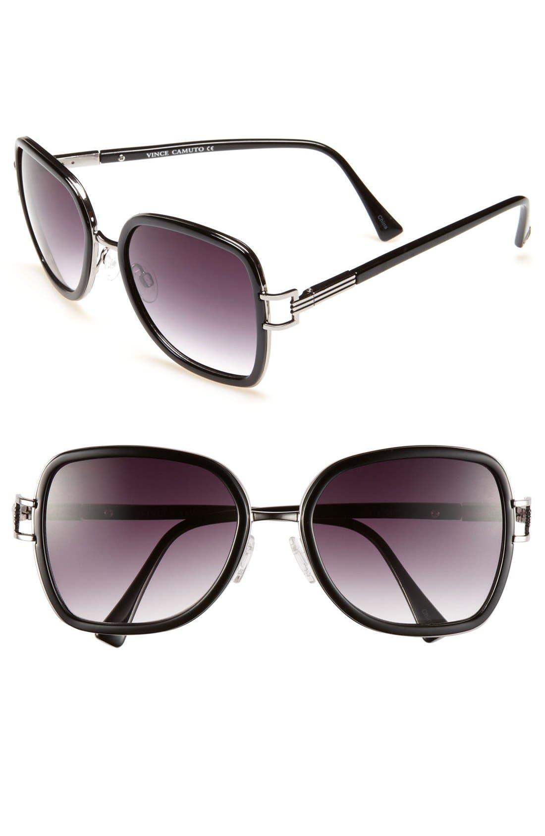 Alternate Image 1 Selected - Vince Camuto Retro Sunglasses
