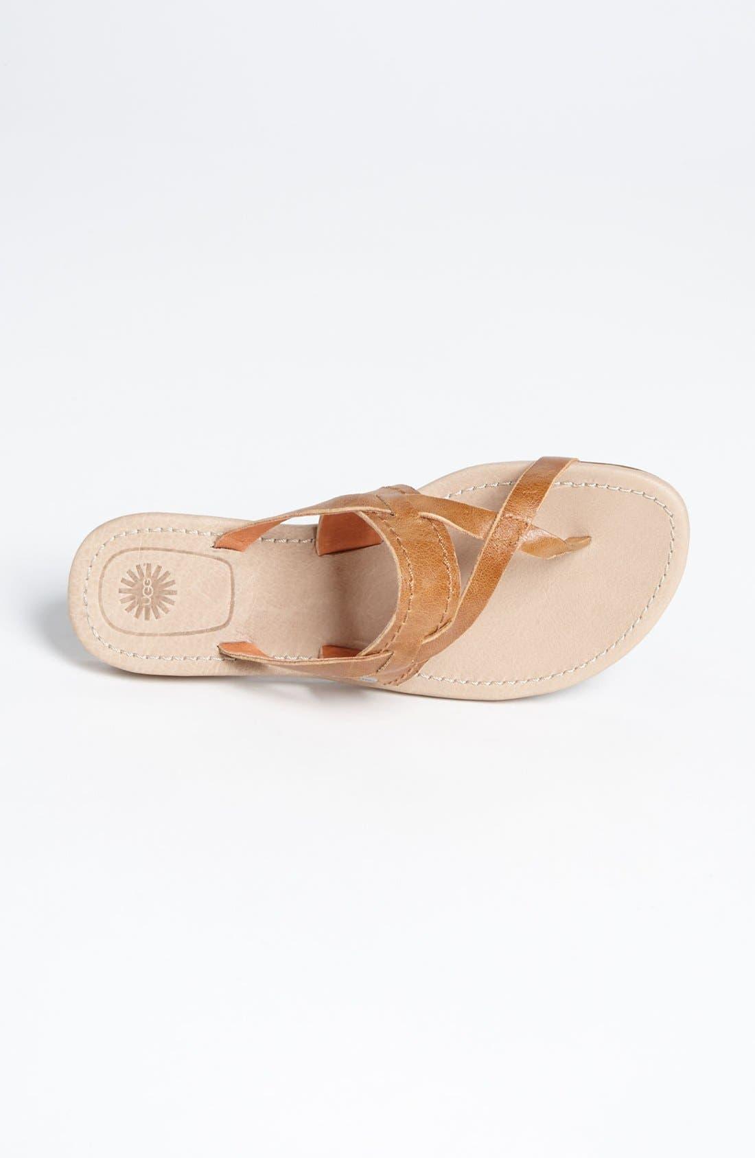 Alternate Image 3  - UGG® Australia 'Mireya' Sandal (Women)