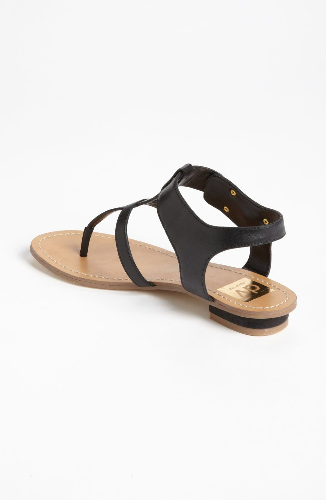 DV by Dolce Vita 'Hani' Sandal,                             Alternate thumbnail 2, color,                             Black