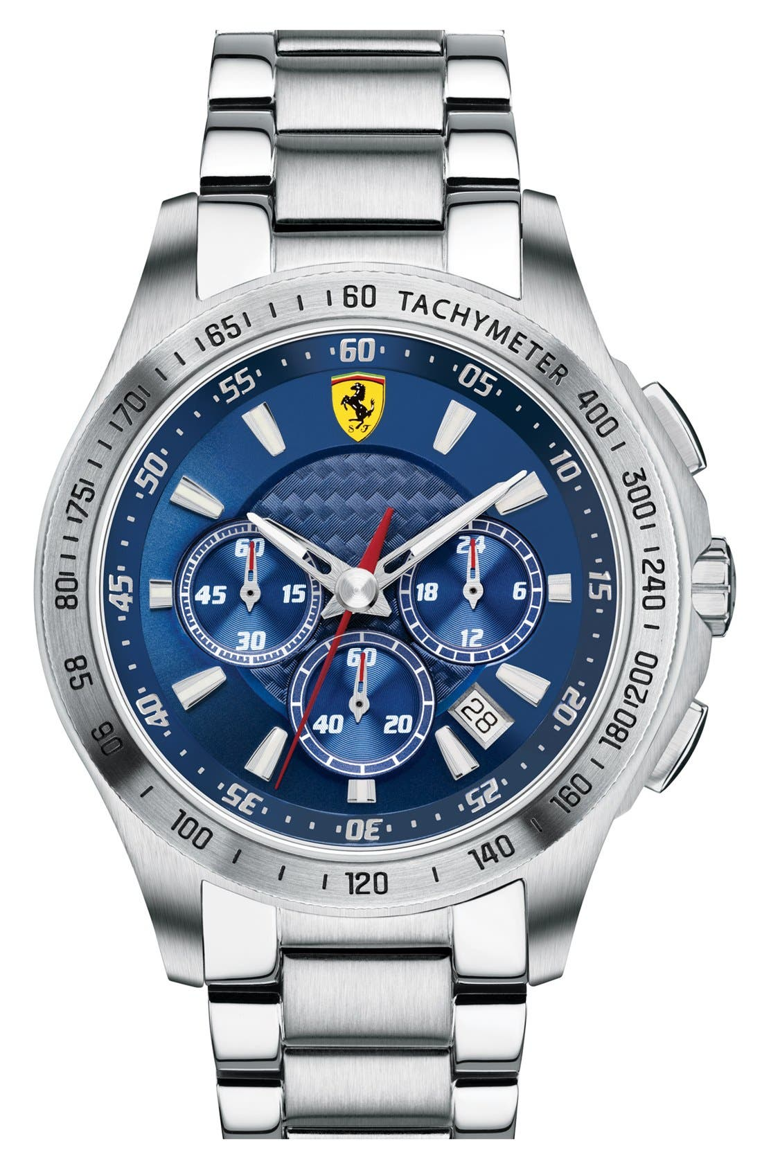 Alternate Image 1 Selected - Scuderia Ferrari Chronograph Bracelet Watch, 44mm