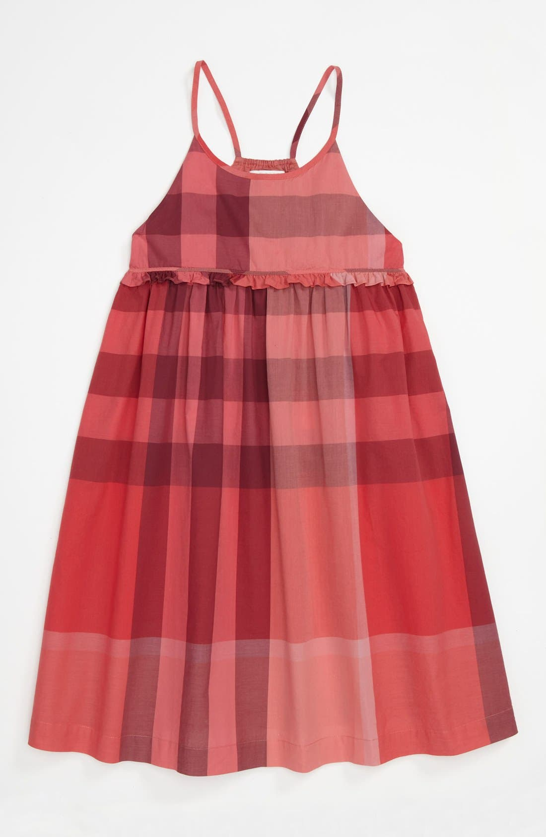 Alternate Image 1 Selected - Burberry 'Erica' Dress (Little Girls & Big Girls)