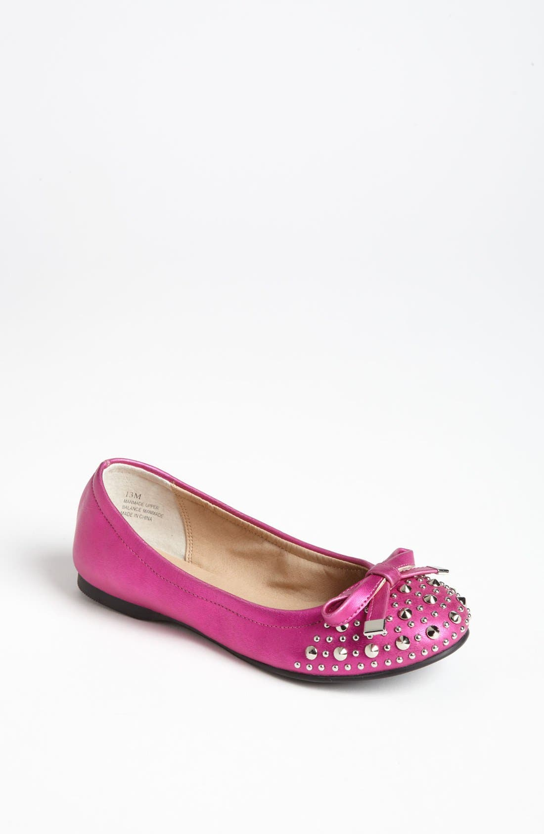 Alternate Image 1 Selected - NORDSTROM CANDID STUDDED BOW FLAT
