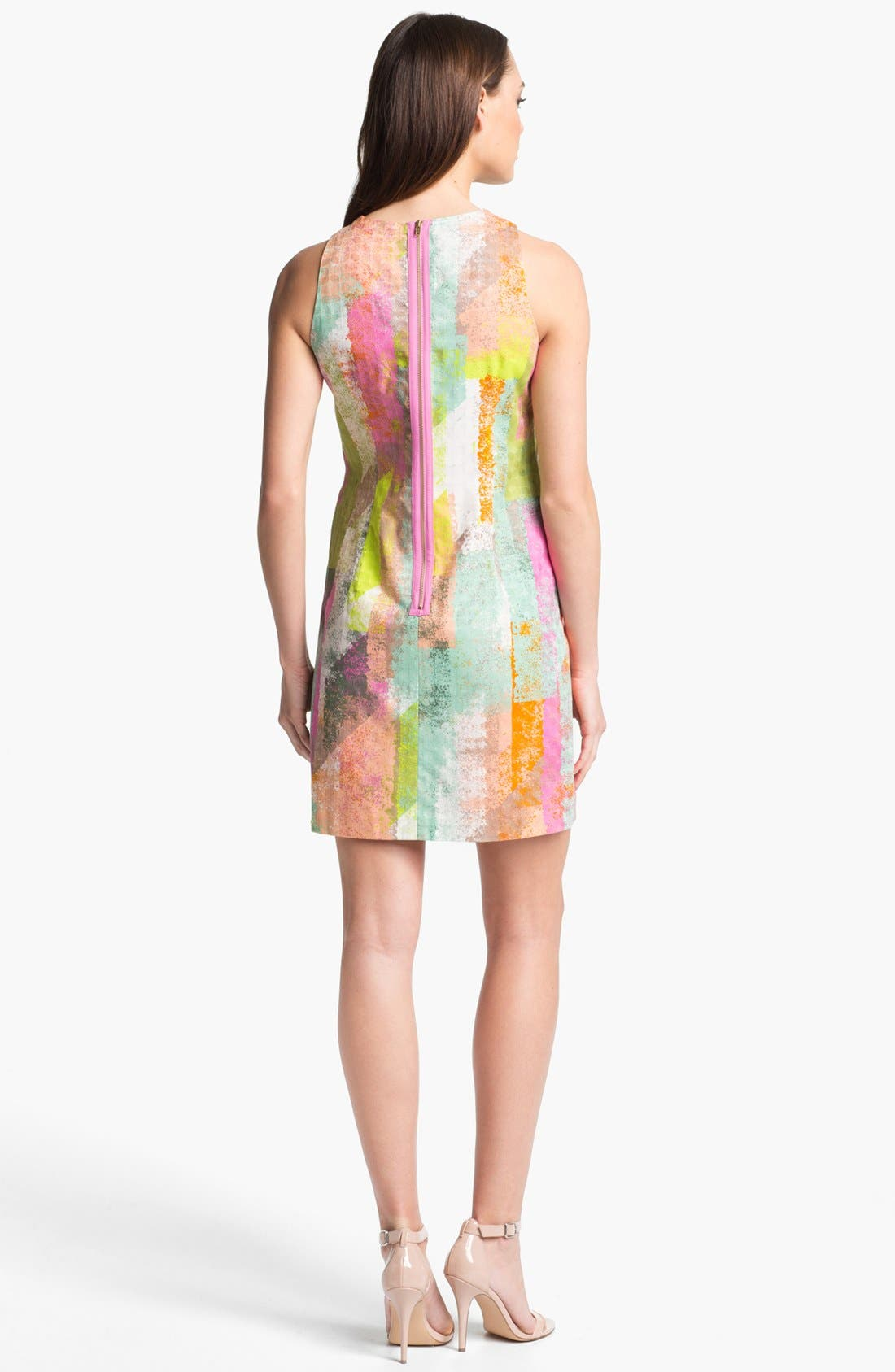 Alternate Image 2  - Maggy London Print Shift Dress