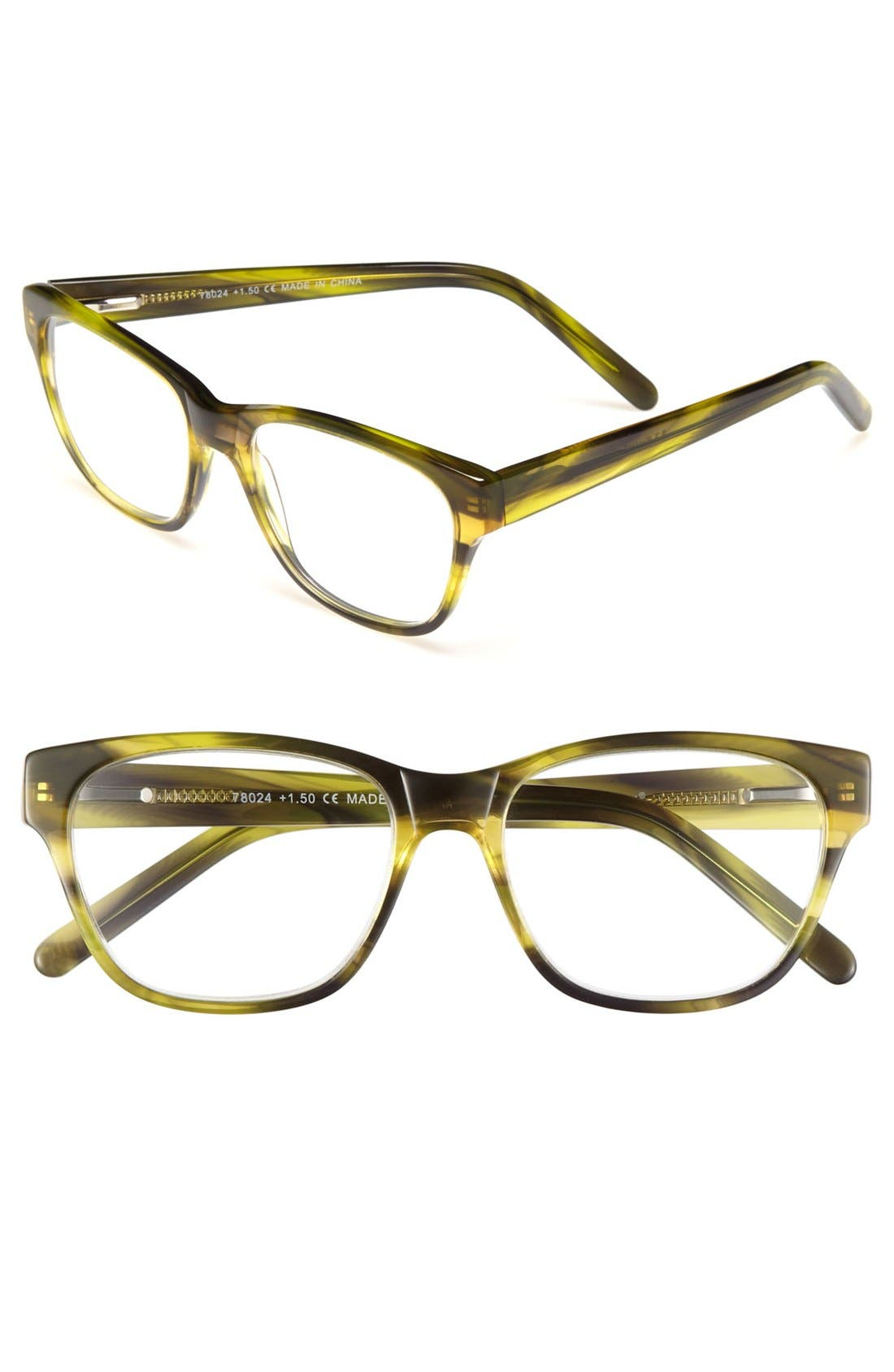 Alternate Image 1 Selected - A.J. Morgan 'Primary' Reading Glasses (Online Only)