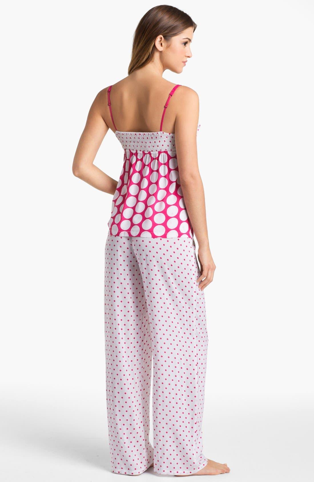 Alternate Image 2  - Josie Dotted Pajamas