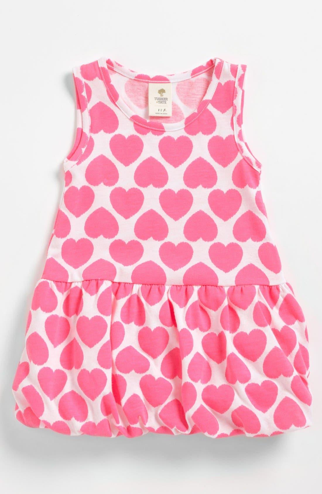 Alternate Image 1 Selected - Tucker + Tate 'Azure' Knit Dress (Baby Girls)