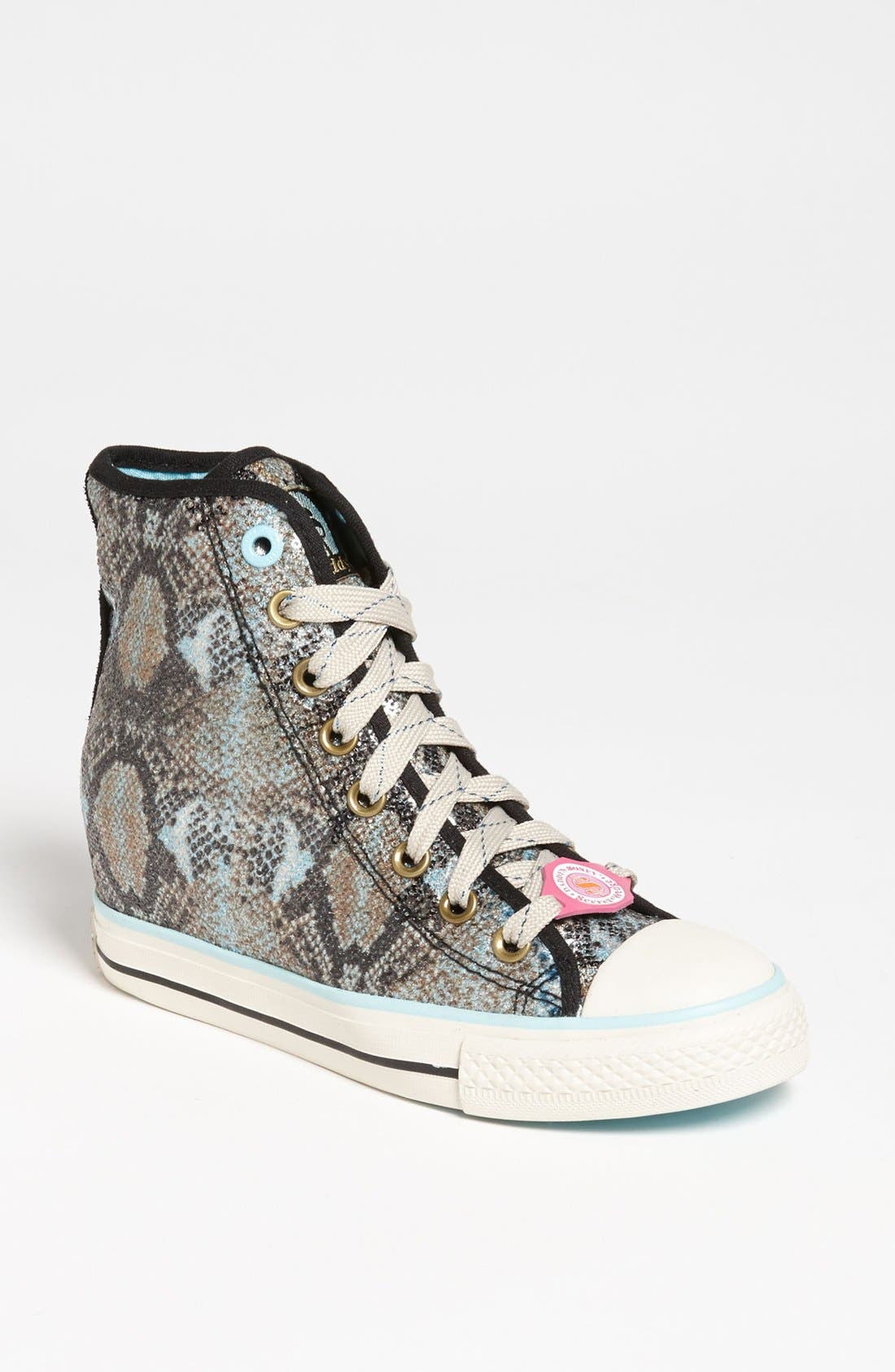 Alternate Image 1 Selected - SKECHERS 'Daddy's Money - Gimme' Wedge Sneaker