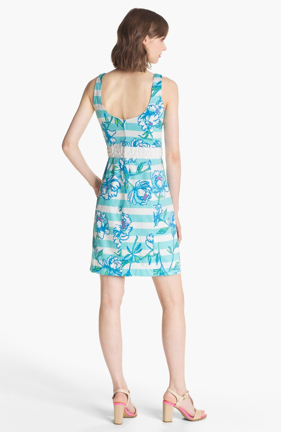 Alternate Image 2  - Lilly Pulitzer® 'Serena' Mix Print Sheath Dress