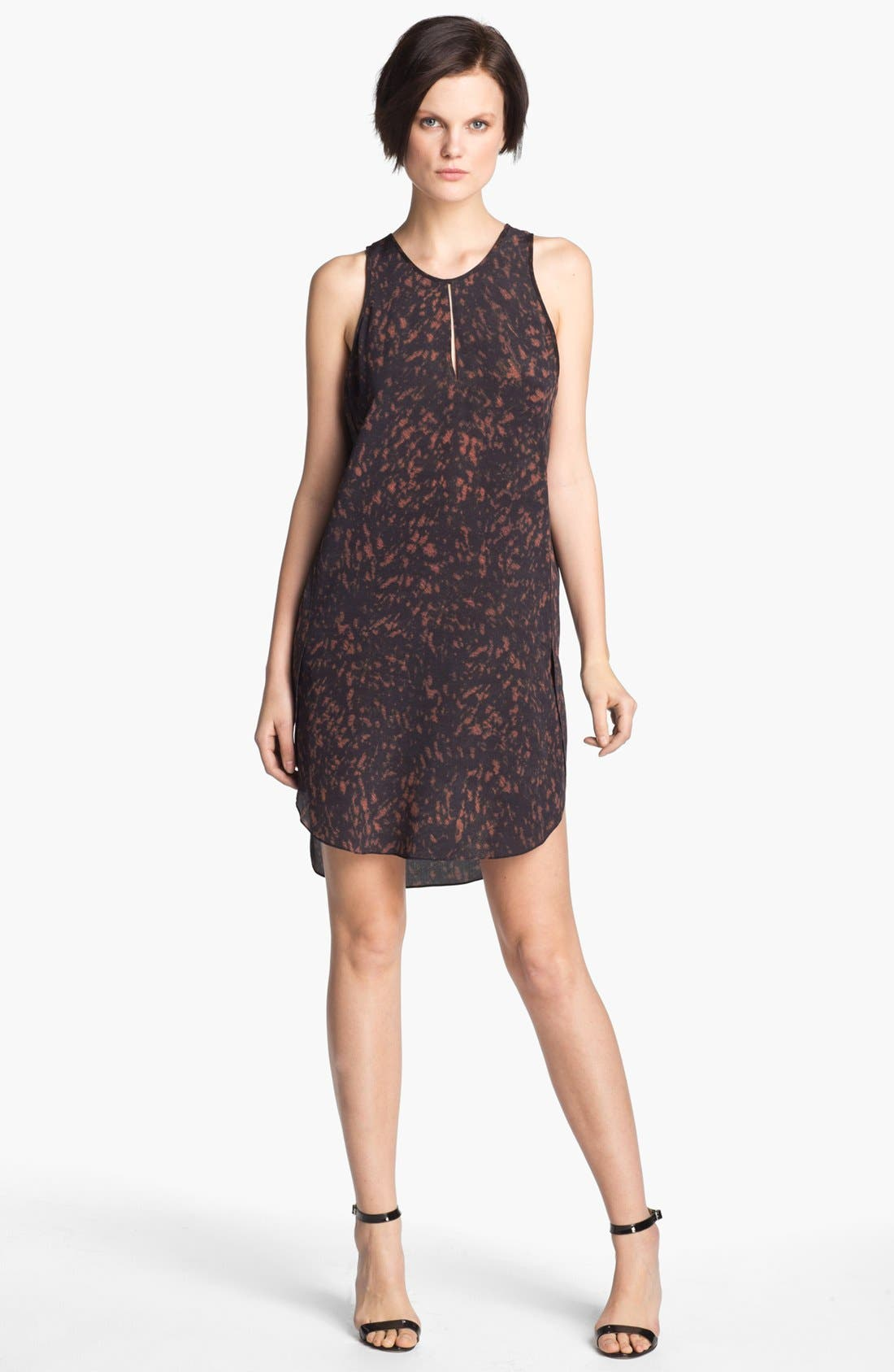 Alternate Image 1 Selected - 3.1 Phillip Lim Print Silk Tank Dress