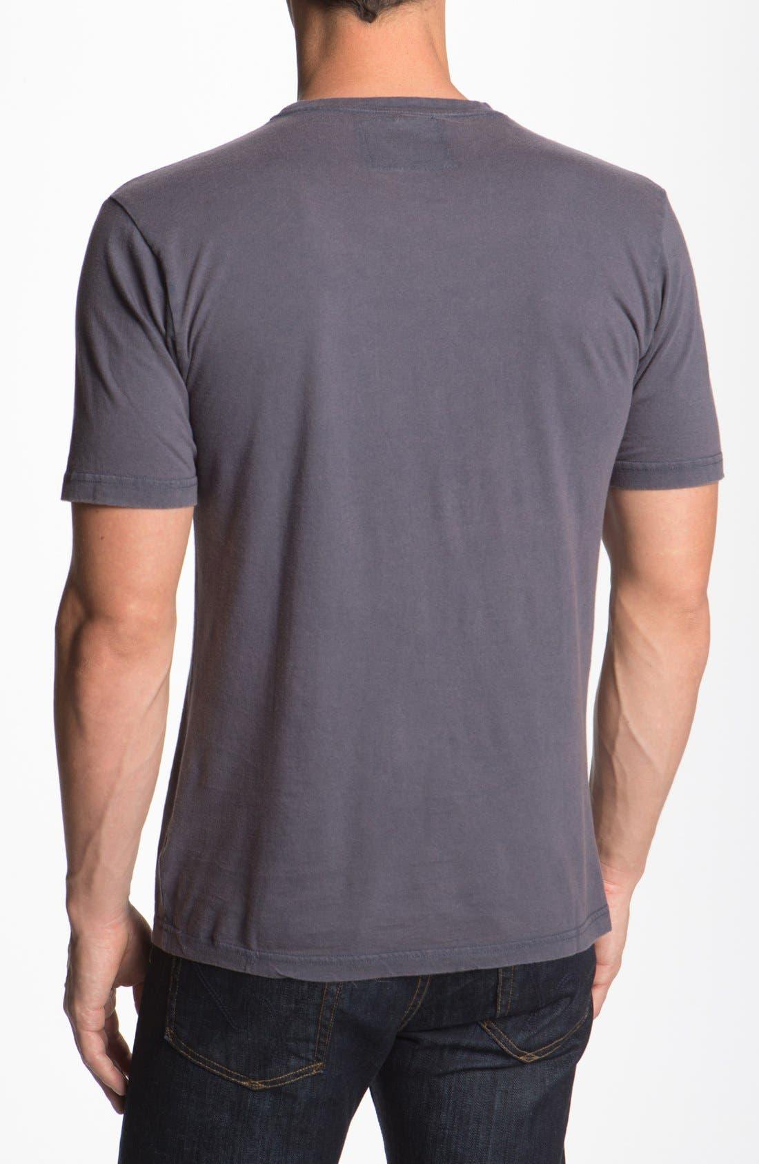 'Los Angeles Angels' Trim Fit T-Shirt,                             Alternate thumbnail 2, color,                             Navy - Angels
