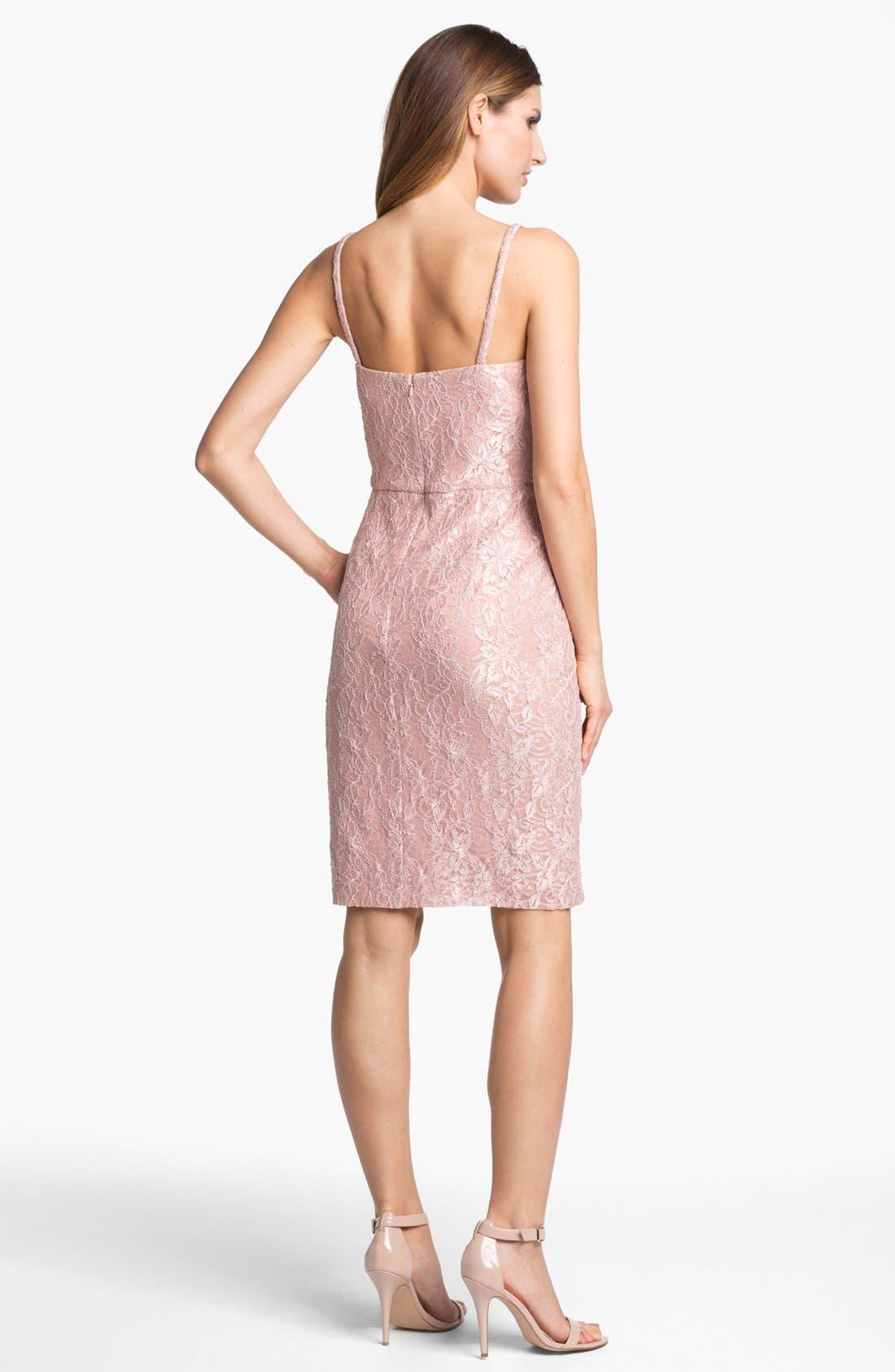 Alternate Image 3  - Alex Evenings Lace Dress & Jacket