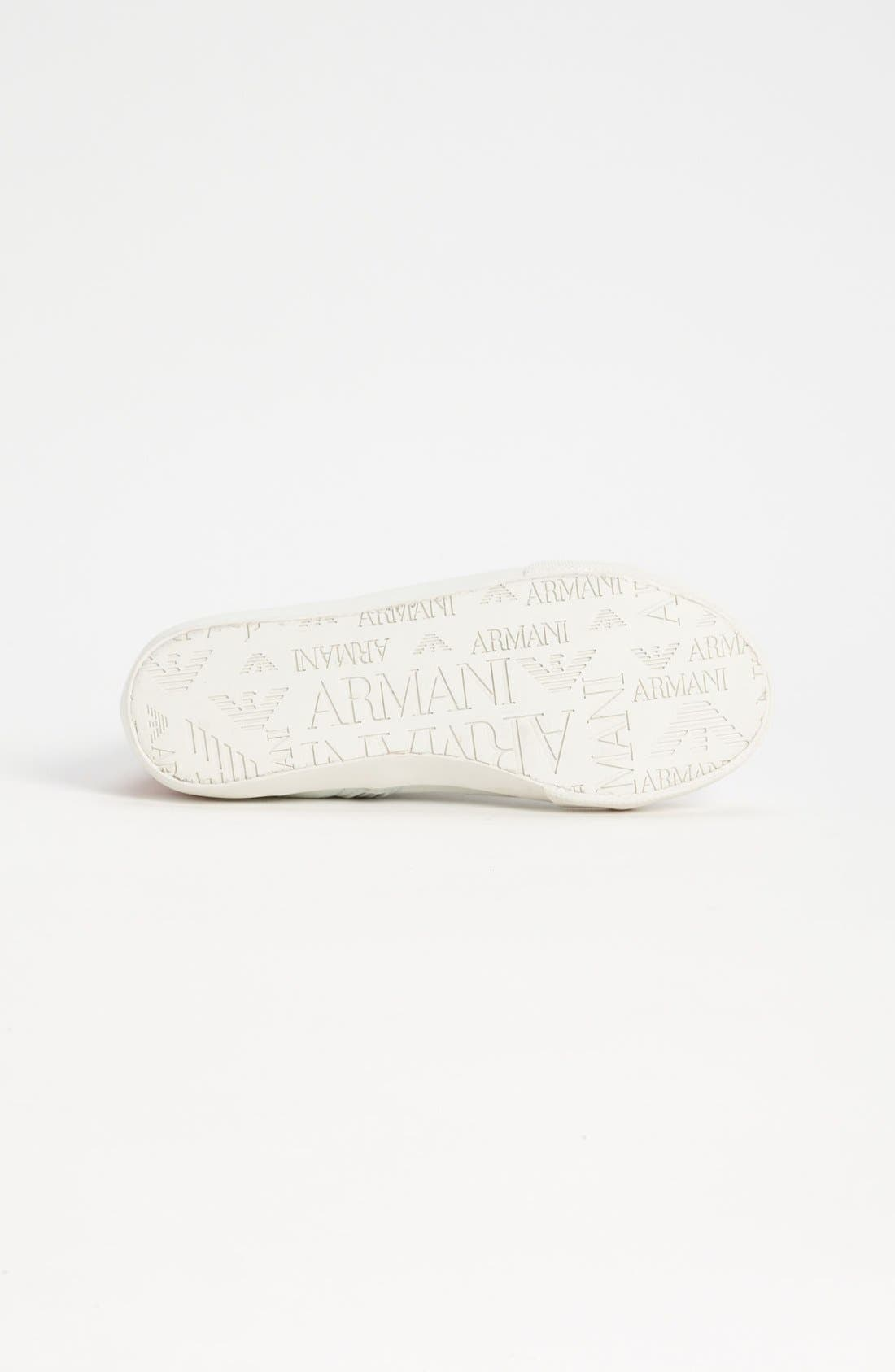 Alternate Image 4  - Armani Junior High Top Sneaker (Toddler, Little Kid & Big Kid)