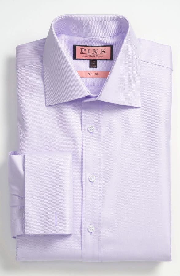 Thomas Pink Slim Fit Dress Shirt | Nordstrom