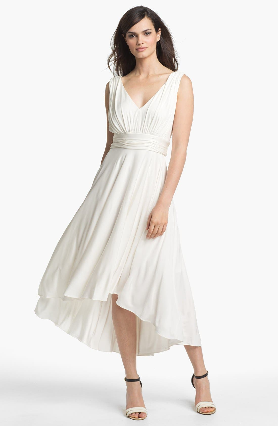 Main Image - Suzi Chin for Maggy Boutique Sleeveless Fit & Flare Dress