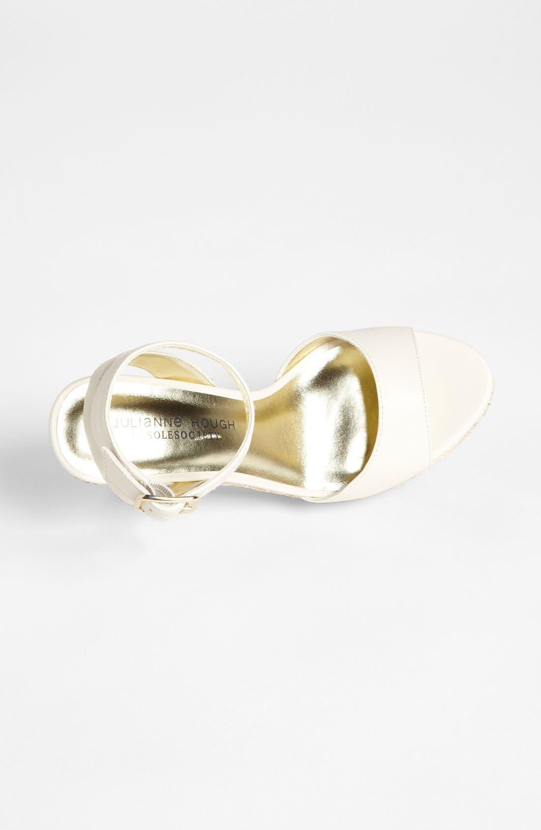 Alternate Image 3  - Julianne Hough for Sole Society 'Adrienne' Wedge Sandal