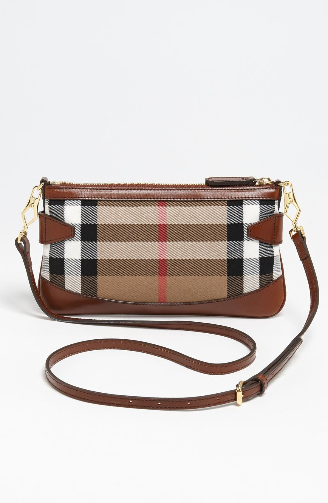 Alternate Image 5  - Burberry 'House Check' Crossbody Clutch