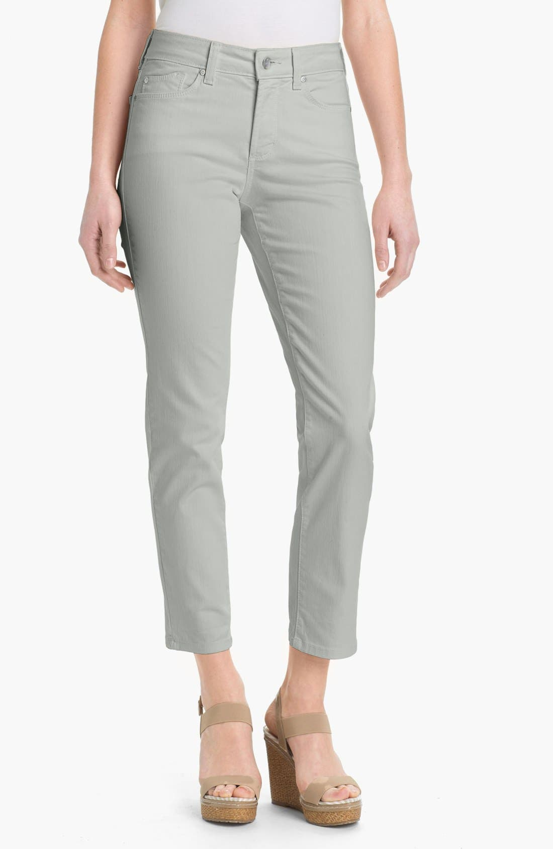 'Alisha' Skinny Stretch Ankle Jeans,                         Main,                         color, Moonstone Grey