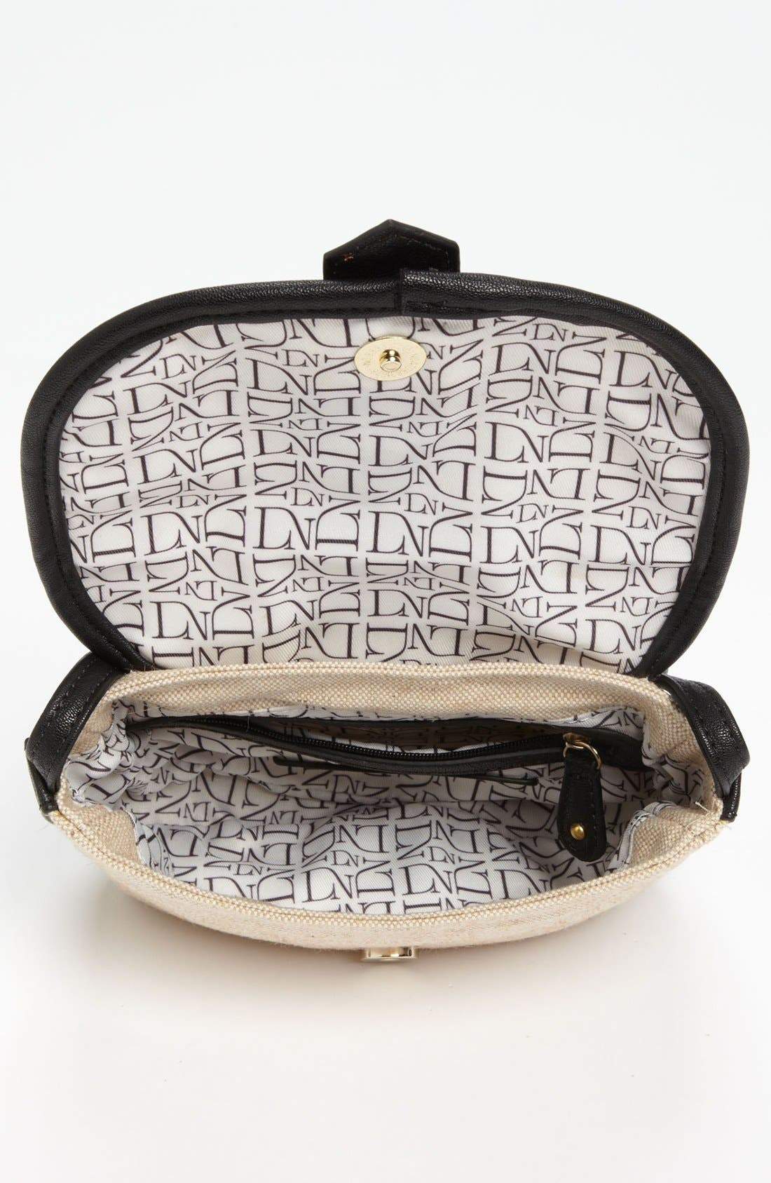 Alternate Image 3  - Danielle Nicole 'Nola' Canvas Crossbody Bag