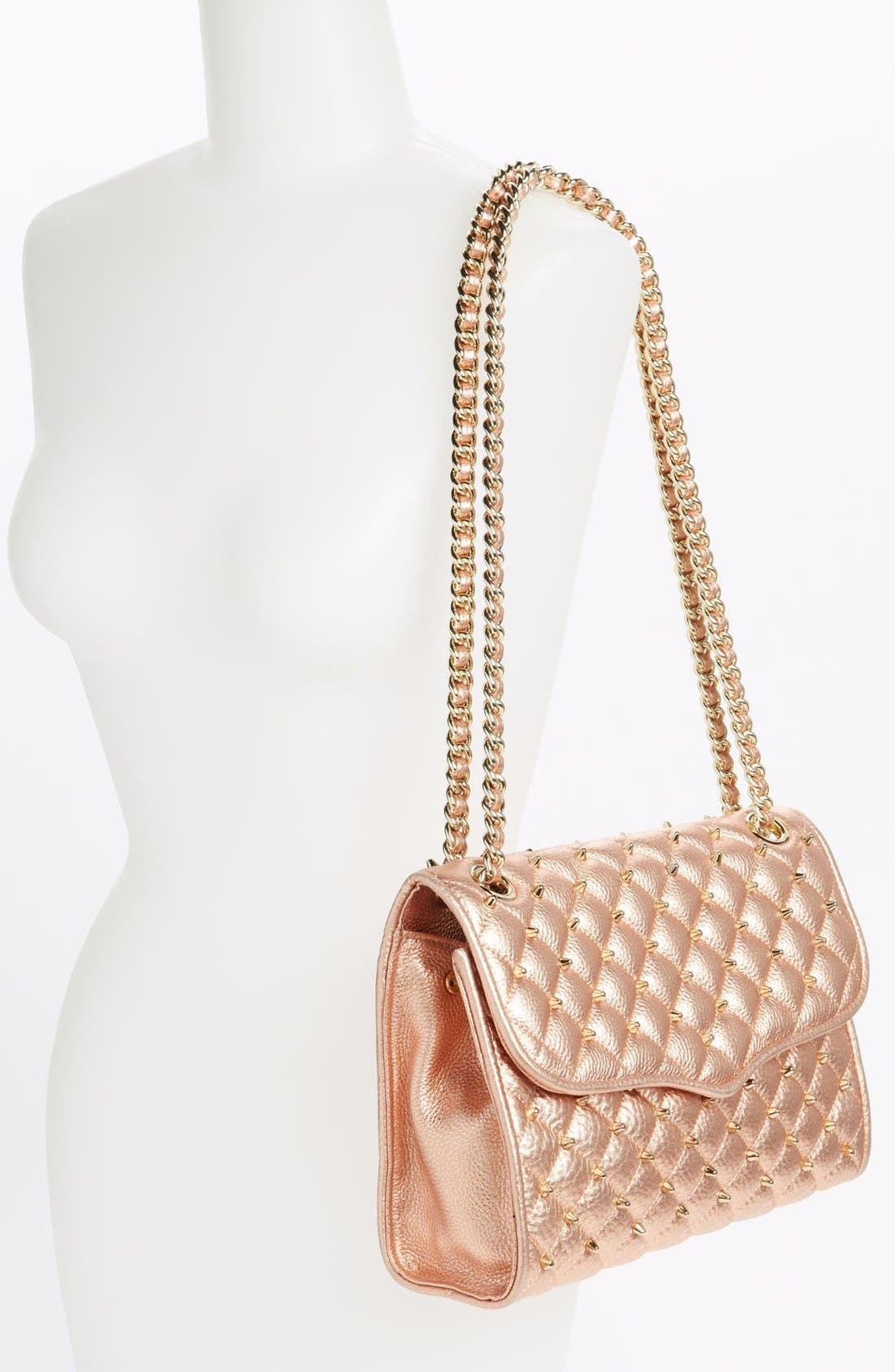 Alternate Image 2  - Rebecca Minkoff 'Quilted Affair with Studs' Shoulder Bag