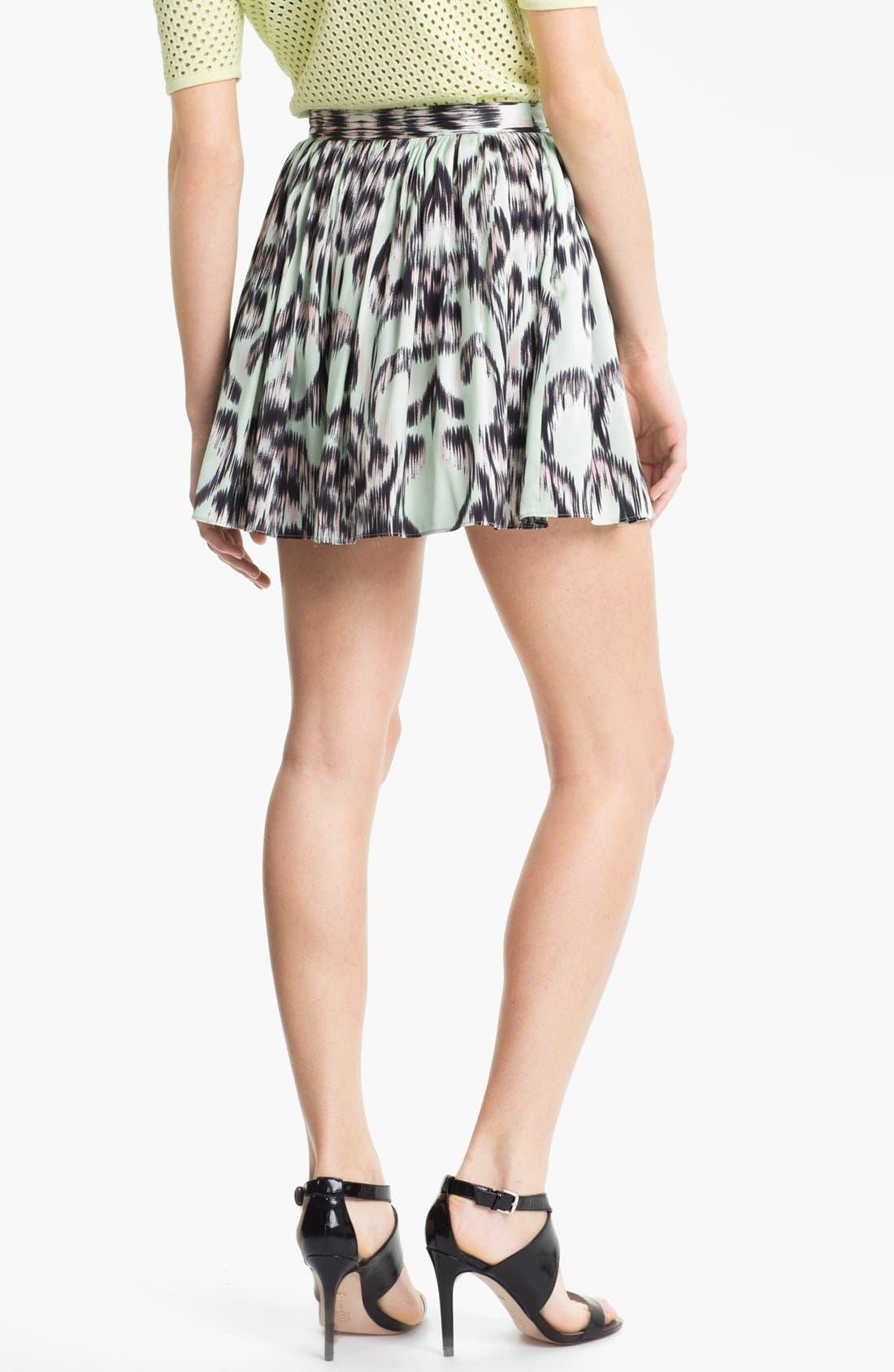 Alternate Image 2  - Milly Gathered Stretch Silk Shorts
